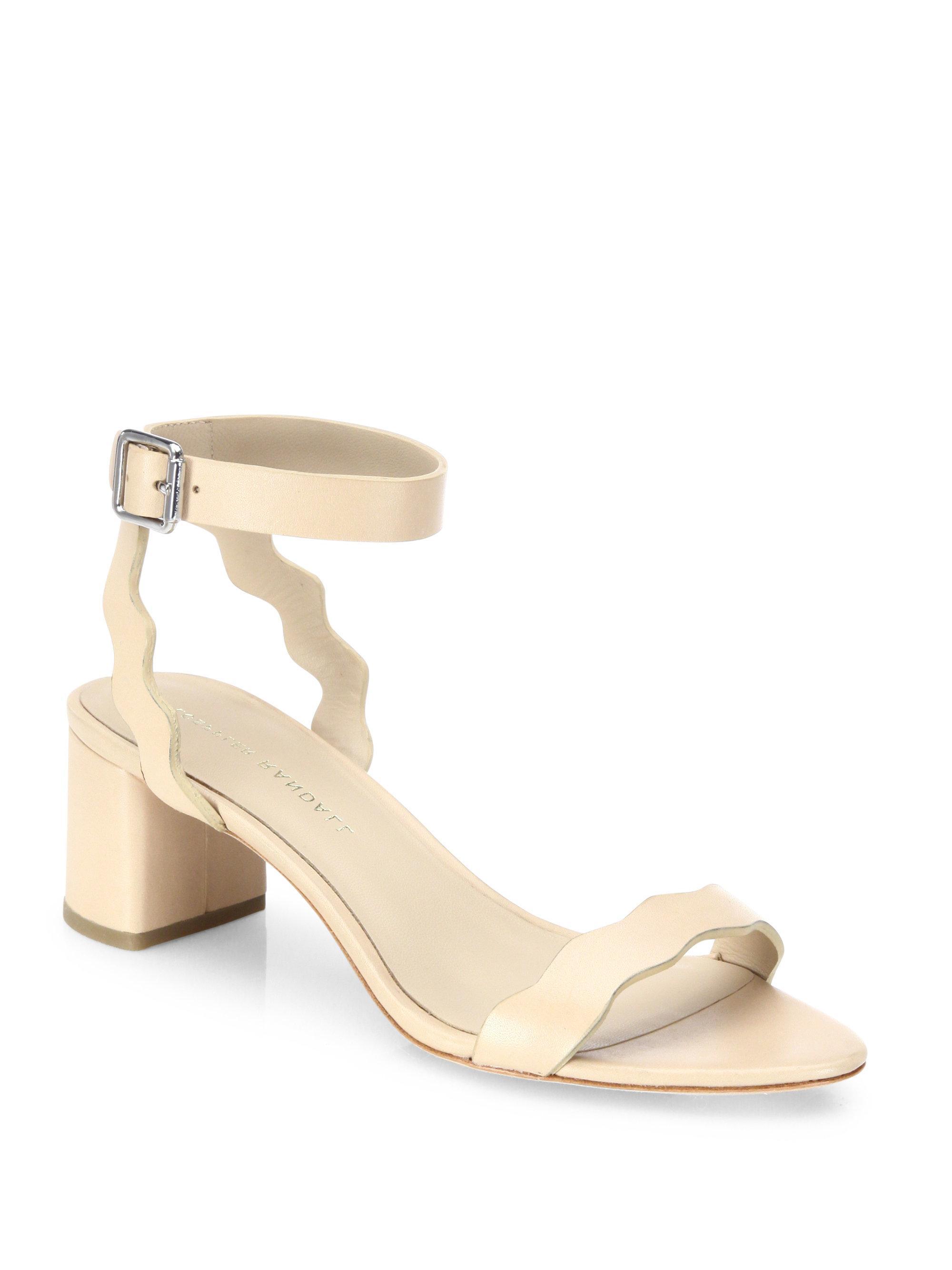 Loeffler Randall Women's Emi Scalloped Sandal gr821
