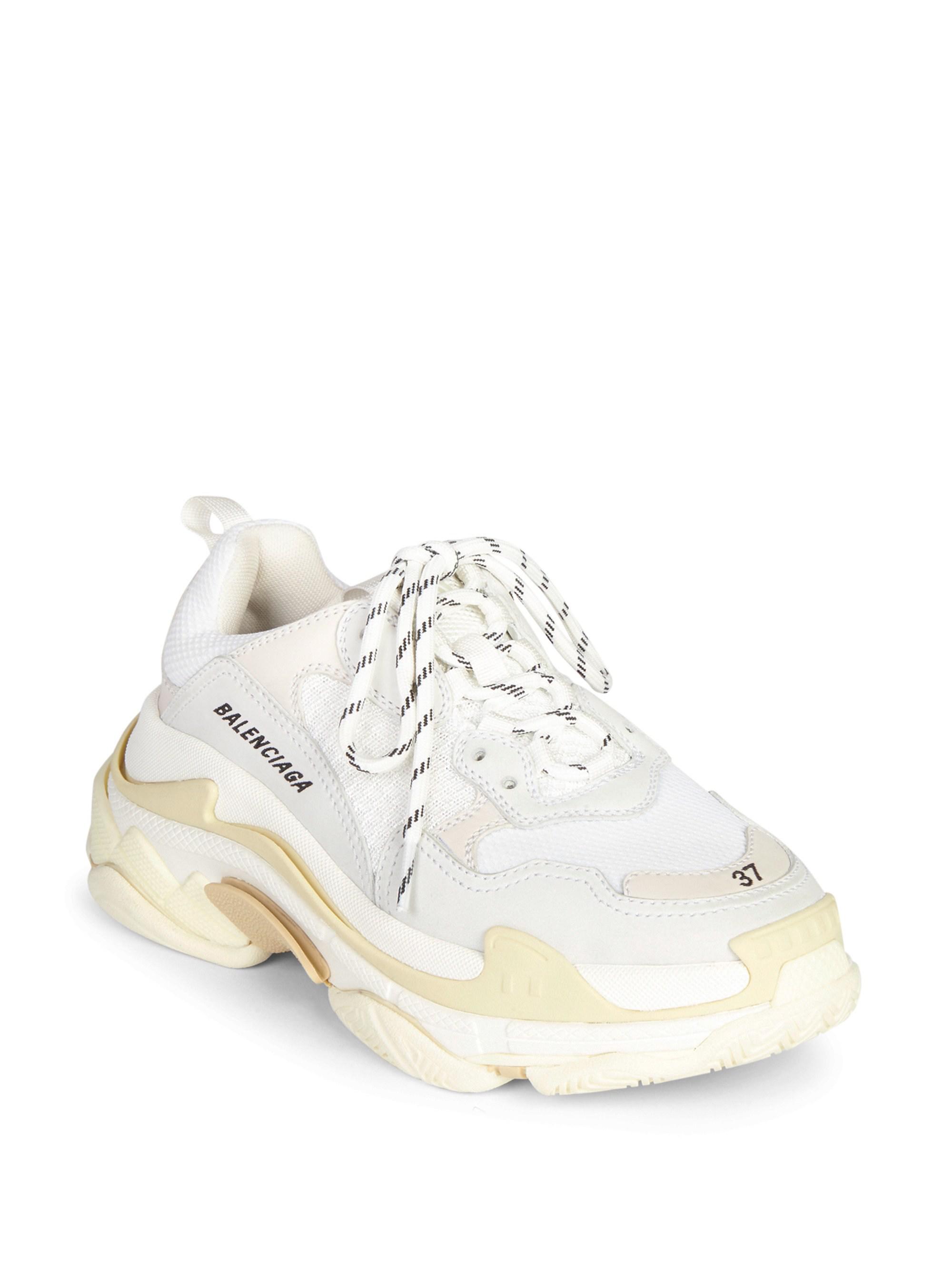 290eeb7e216c ... separation shoes 99d62 7341a Balenciaga - White Triple S Trainer  Sneakers for Men - Lyst. ...