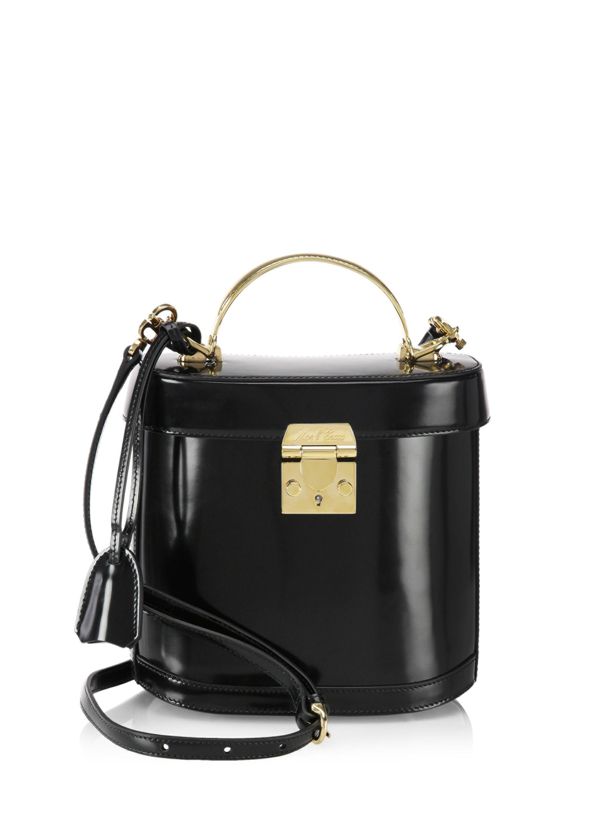 Mark Cross Benchley Leather Crossbody Bag in Black - Lyst 512c8b9290