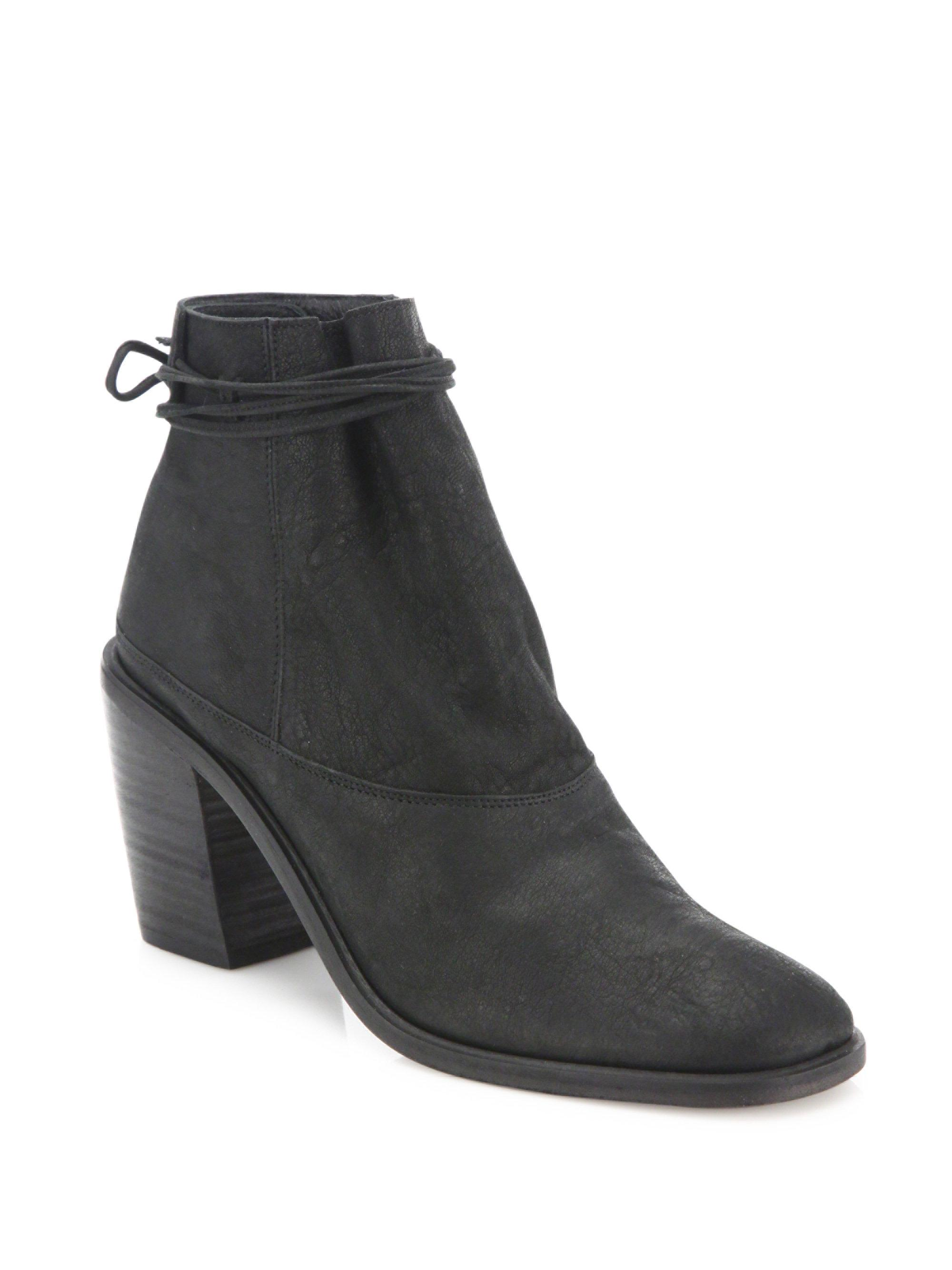 LD Tuttle - Black The Vow Goatskin Ankle Boots - Lyst. View fullscreen