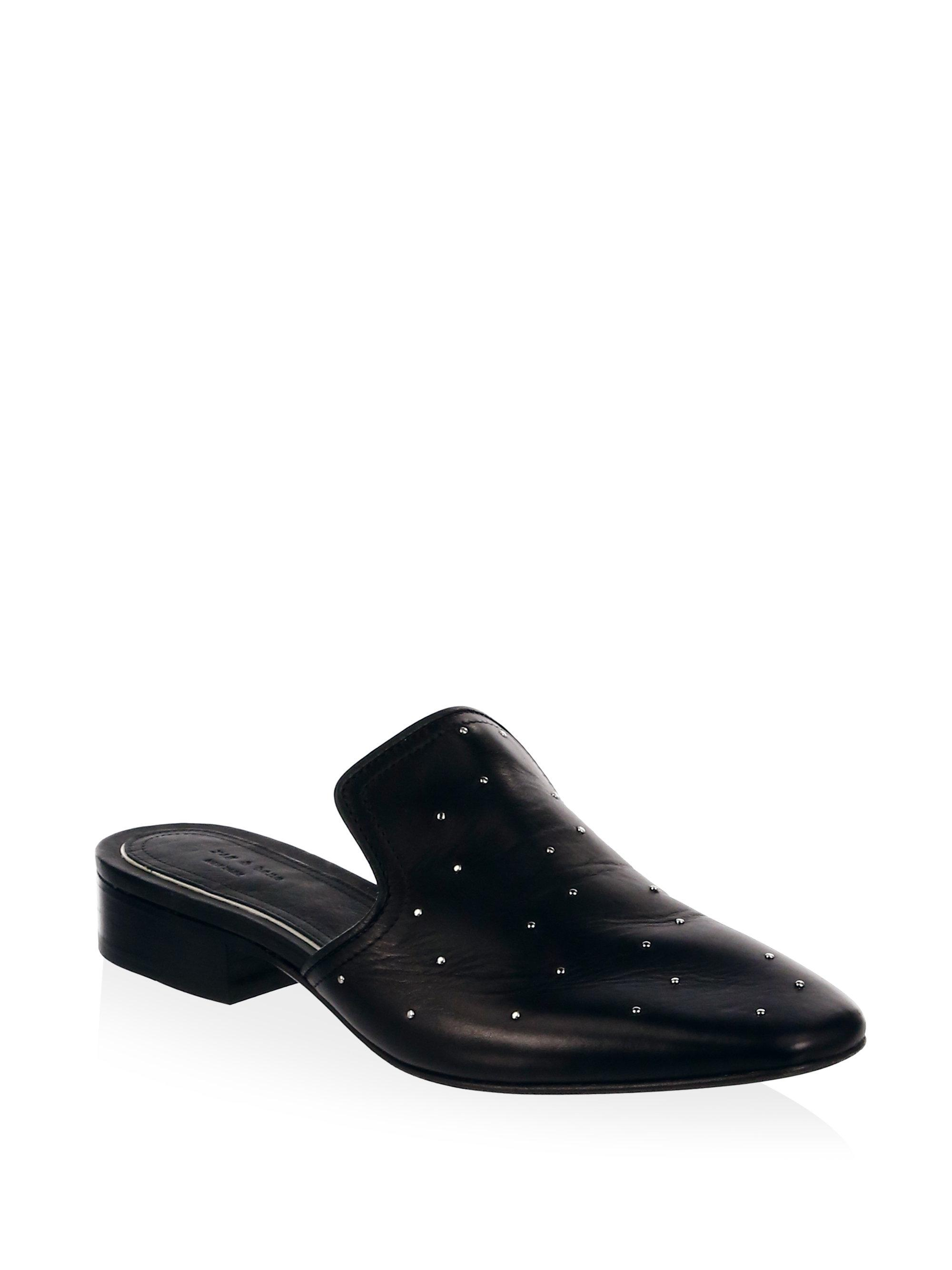 RAG&BONE Luis Studded Leather Loafers IHgHQ2J7Pw