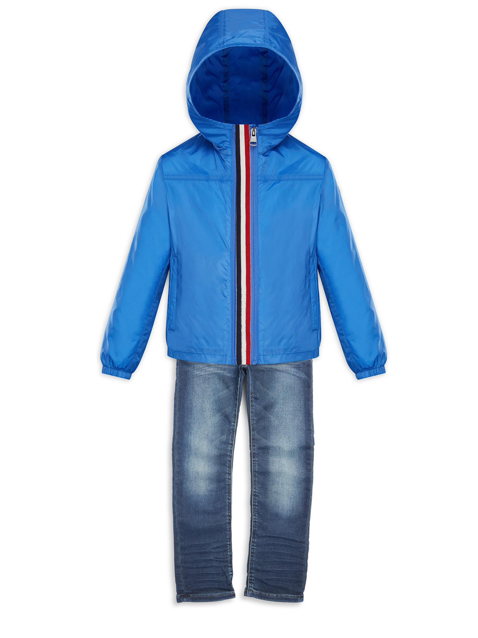 e2014aaf1 Moncler Little Boy's & Boy's Fronsac Double Zip Flag Grosgrain ...