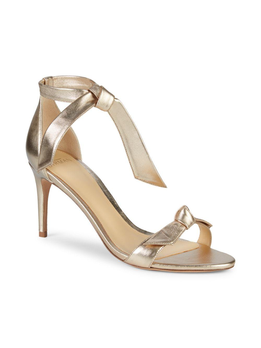 c3b501bc528 Alexandre Birman Clarita Leather Sandals in Natural - Lyst