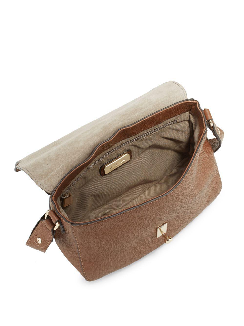 d8d5a7612673 Lyst - Furla Jo M Leather Crossbody Bag in Brown