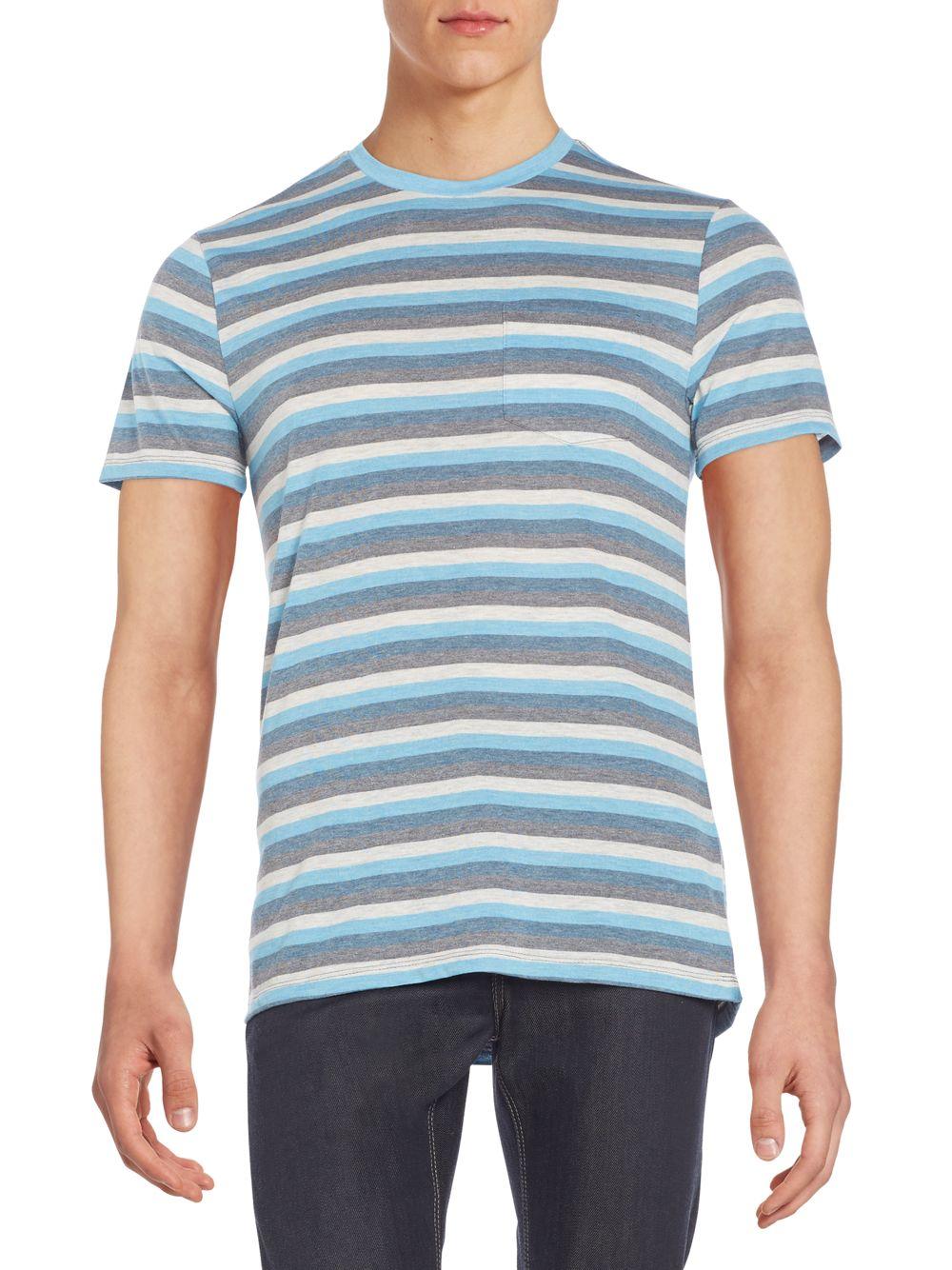 Slate And Stone Clothing : Slate stone sasha striped tee in blue for men lyst
