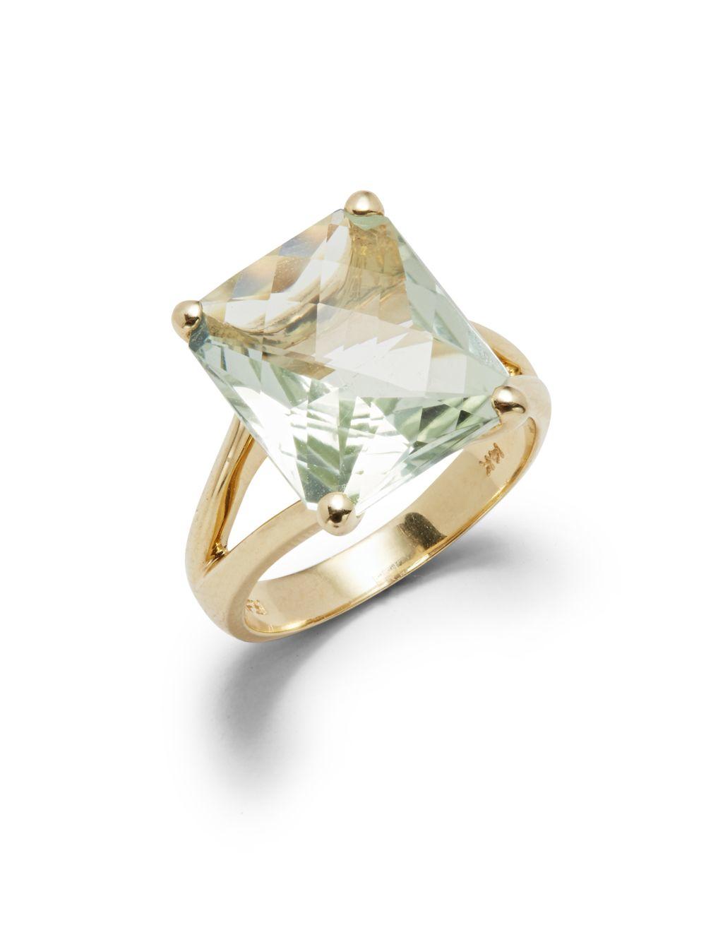 Effy Green Amethyst Ring