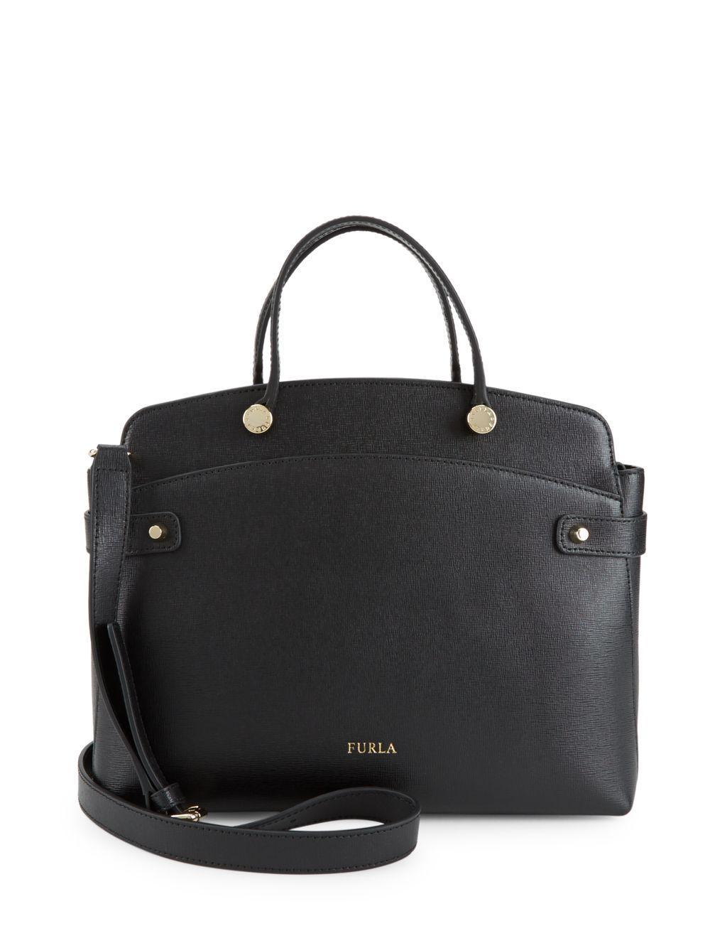 a8523c6f3d3b Furla Leather Top Zip Shoulder Bag | Stanford Center for Opportunity ...