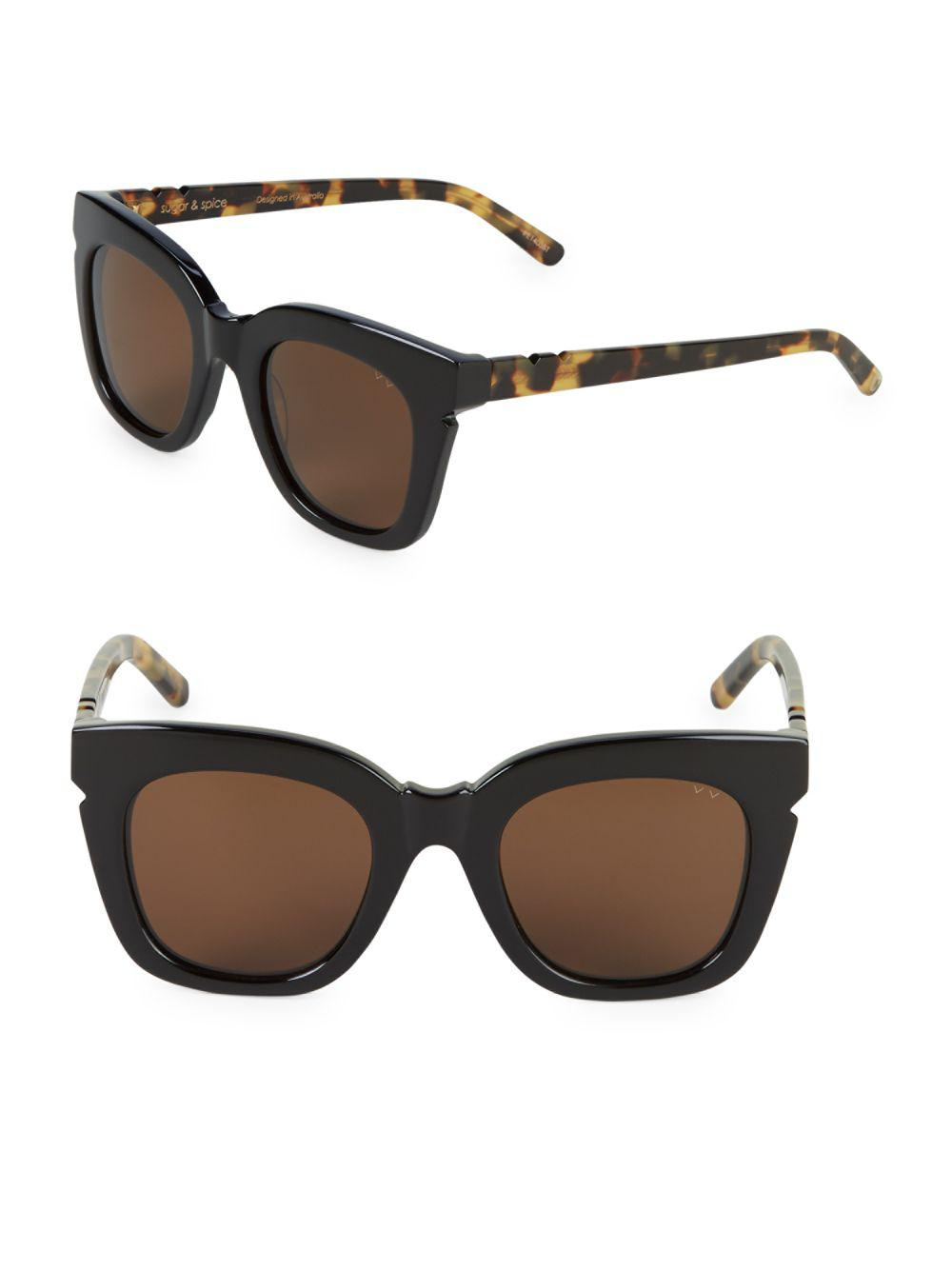 833fea7660 Pared Eyewear Classic 44mm Butterfly Sunglasses in Black - Lyst