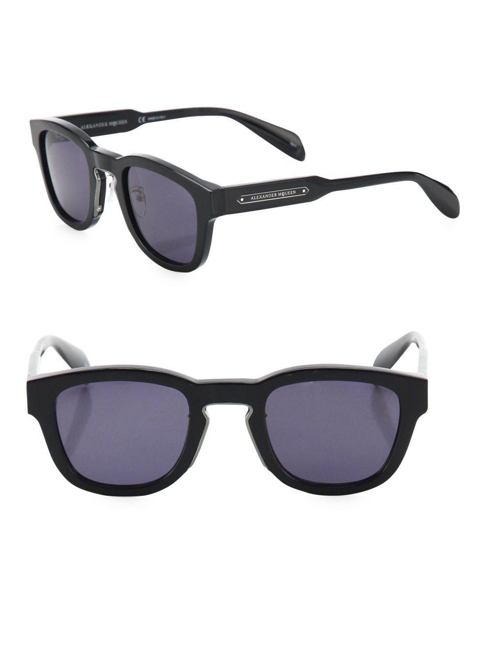 9f46eeddd8e Alexander Mcqueen 57mm Gradient Sunglasses in Gray for Men - Lyst