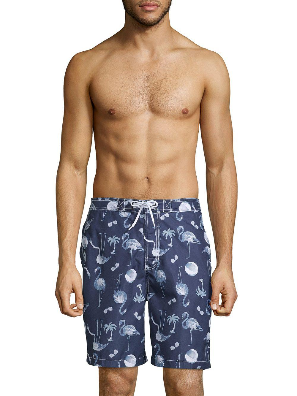 95813e749a Lyst - Onia Printed Swim Shorts in Blue for Men