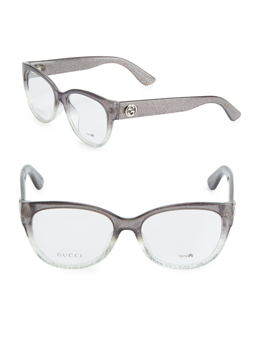 beb930f9e3 Gucci Glitter Eyeglasses