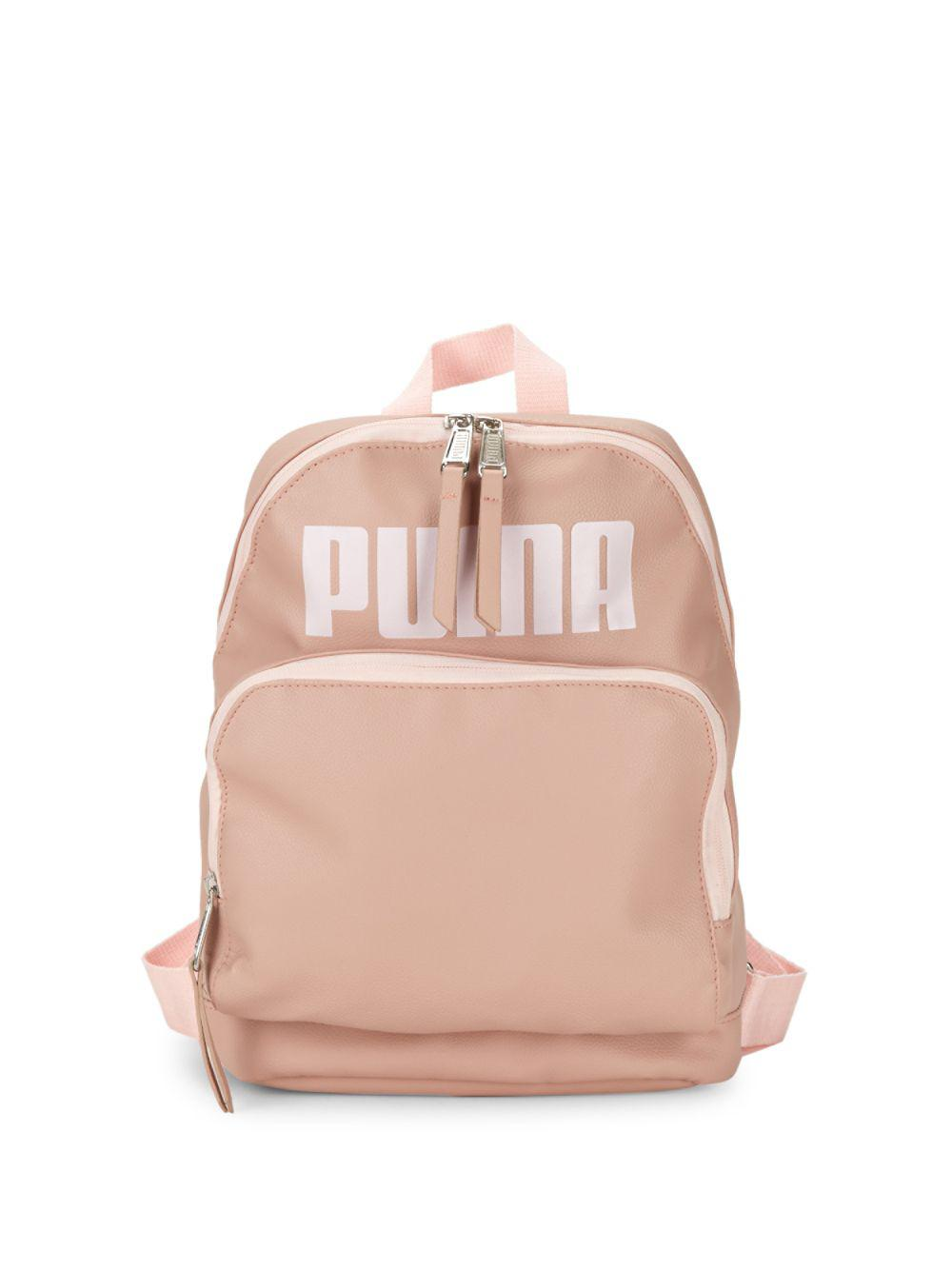 7449f005b98 Lyst - PUMA Evercat Royale Backpack in Pink