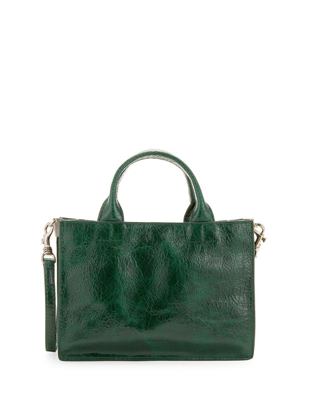 024ea14642d8 Lyst - Steven Alan Classic Leather Crossbody Bag in Green