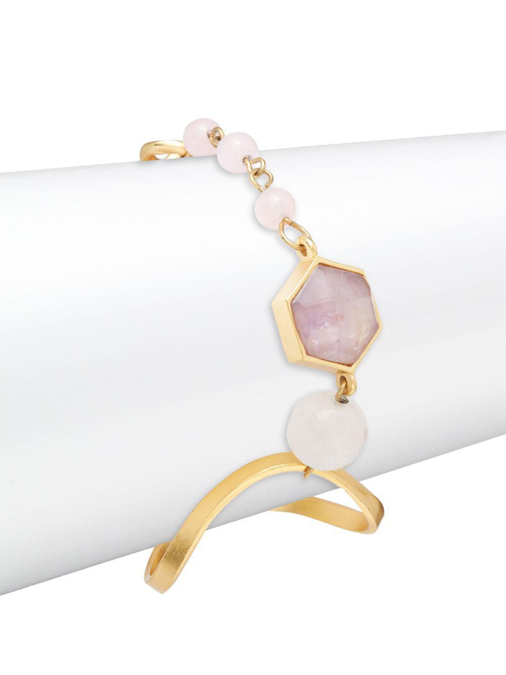Stephanie Kantis Organic Mixed Bracelet ZnP6C1W2K