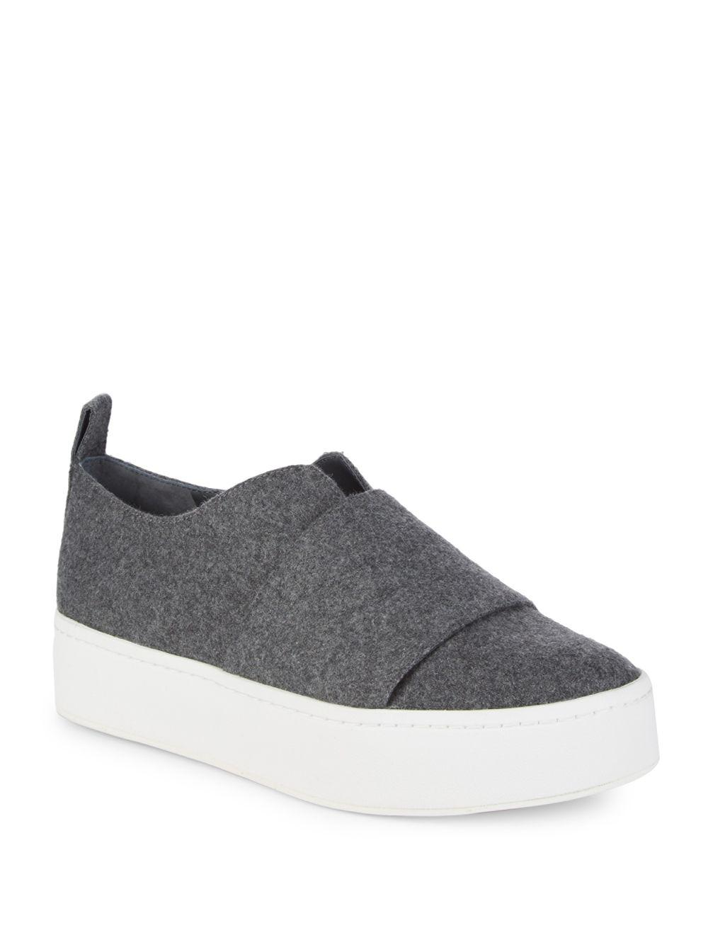 15a6c3bc25e8 Lyst - Vince Wallace Platform Sneakers in Gray - Save 21%