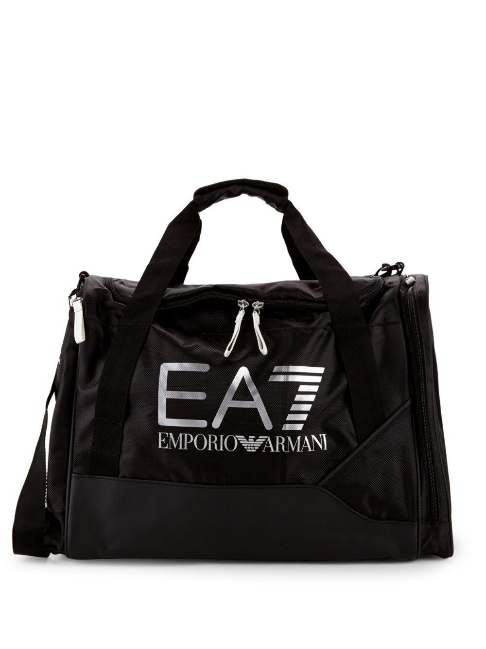 242559287cc3 Lyst - Emporio Armani Ea7 Duffle Bag in Black for Men