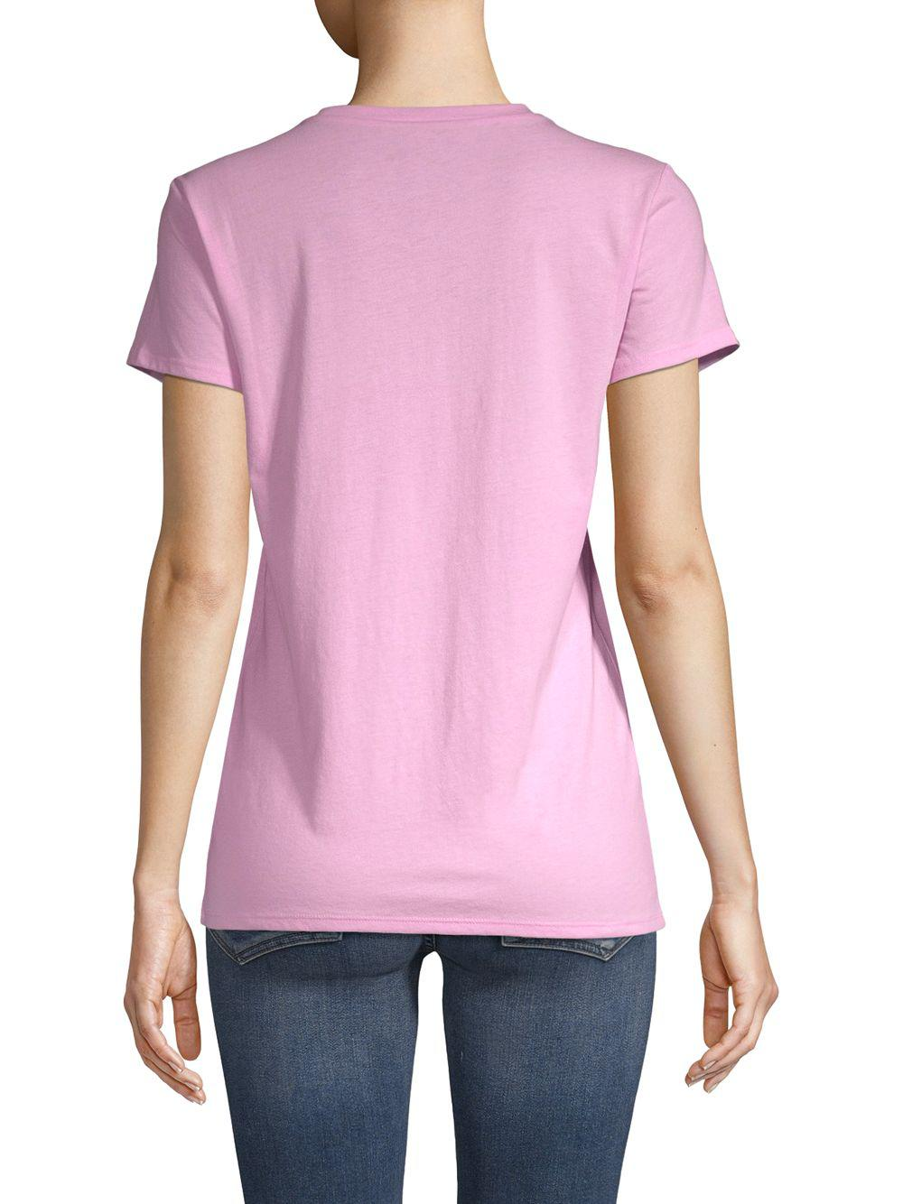 cdde1dec Lyst - Juicy Couture Graphic Short-sleeve Tee in Pink