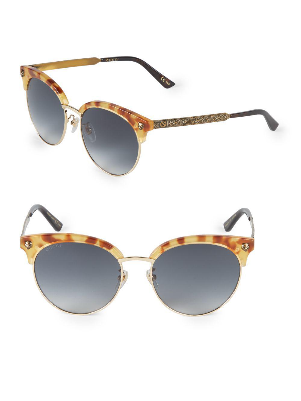 625f5438613 Gucci - Multicolor 56mm Clubmaster Sunglasses - Lyst. View fullscreen
