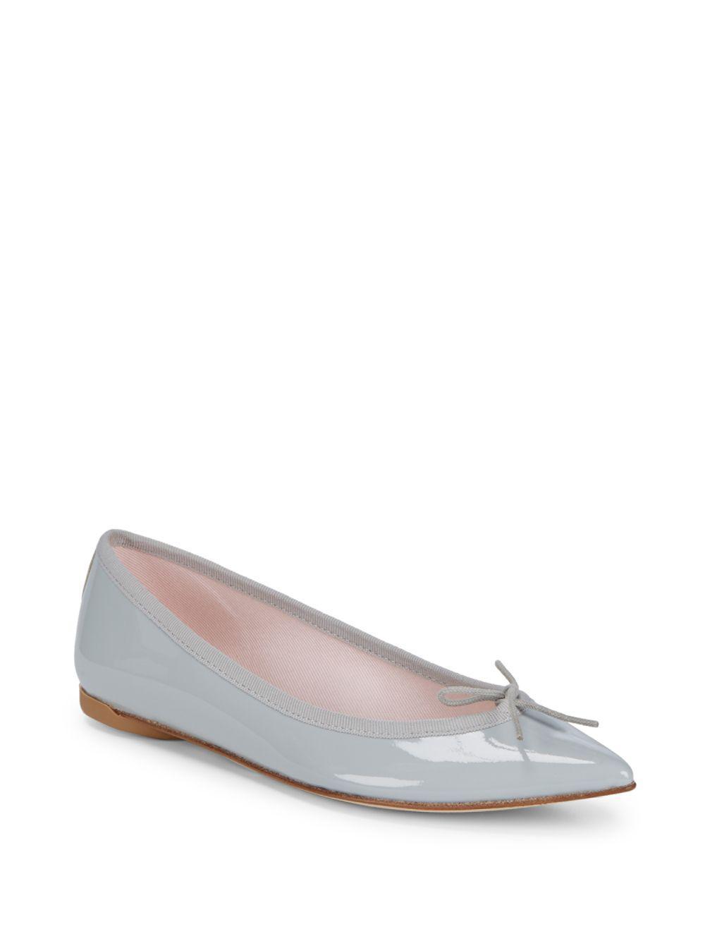 Repetto Pink Patent Brigitte Ballerina Flats iAHPEipI