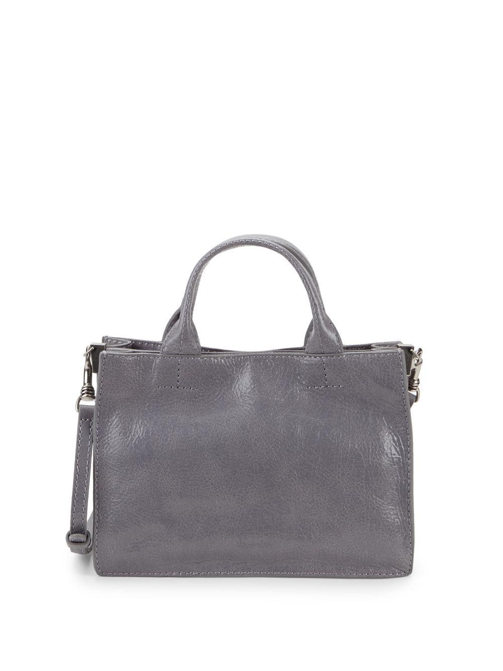d7b610763028 Lyst - Steven Alan Classic Leather Crossbody Bag in Gray