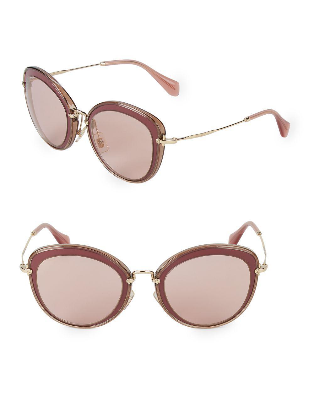 5d8168006cf49 Miu Miu. Women s 54mm Butterfly Sunglasses