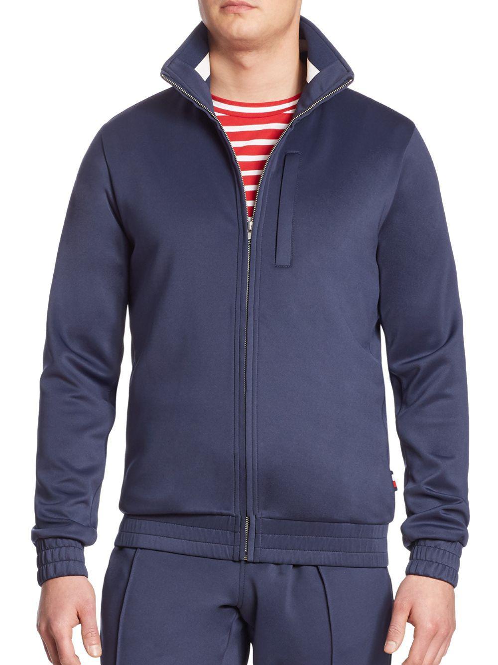 112cddb583e0 Lyst - Tommy Hilfiger Track Jacket in Blue for Men