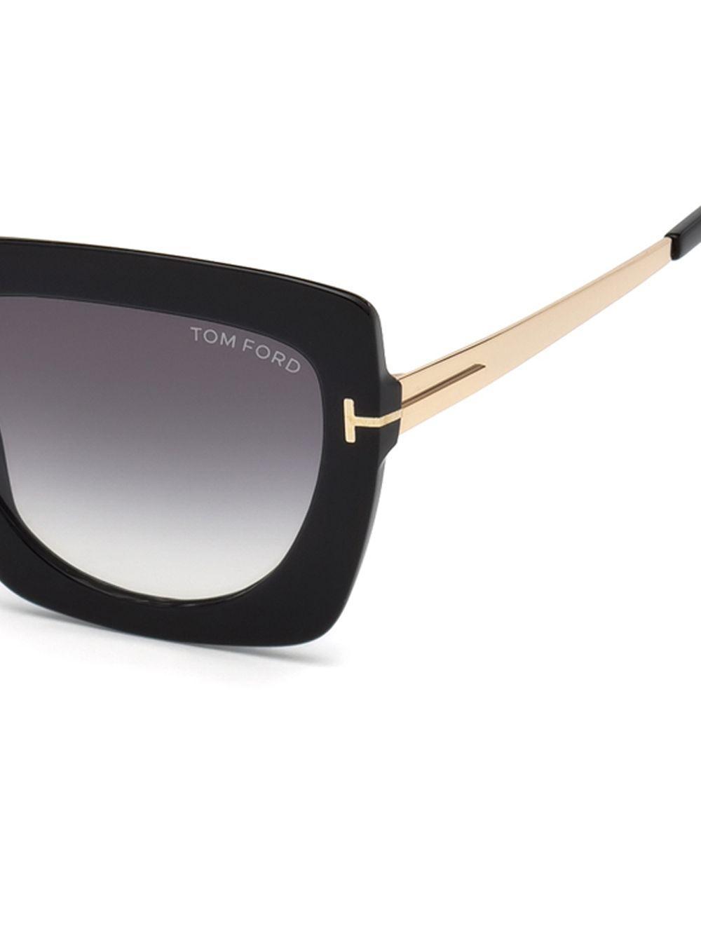 e4982f8bca Tom Ford Women s Jasmine 53mm Two Tone Square Sunglasses - Black in ...