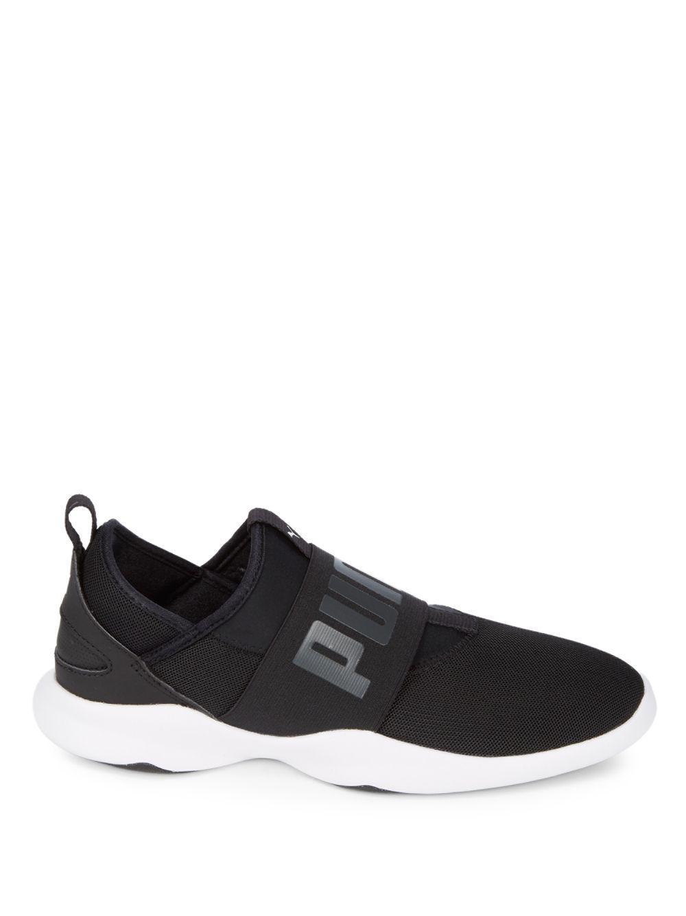 258ed208155 Lyst - PUMA Dare Mesh Slip-on Sneakers in Black