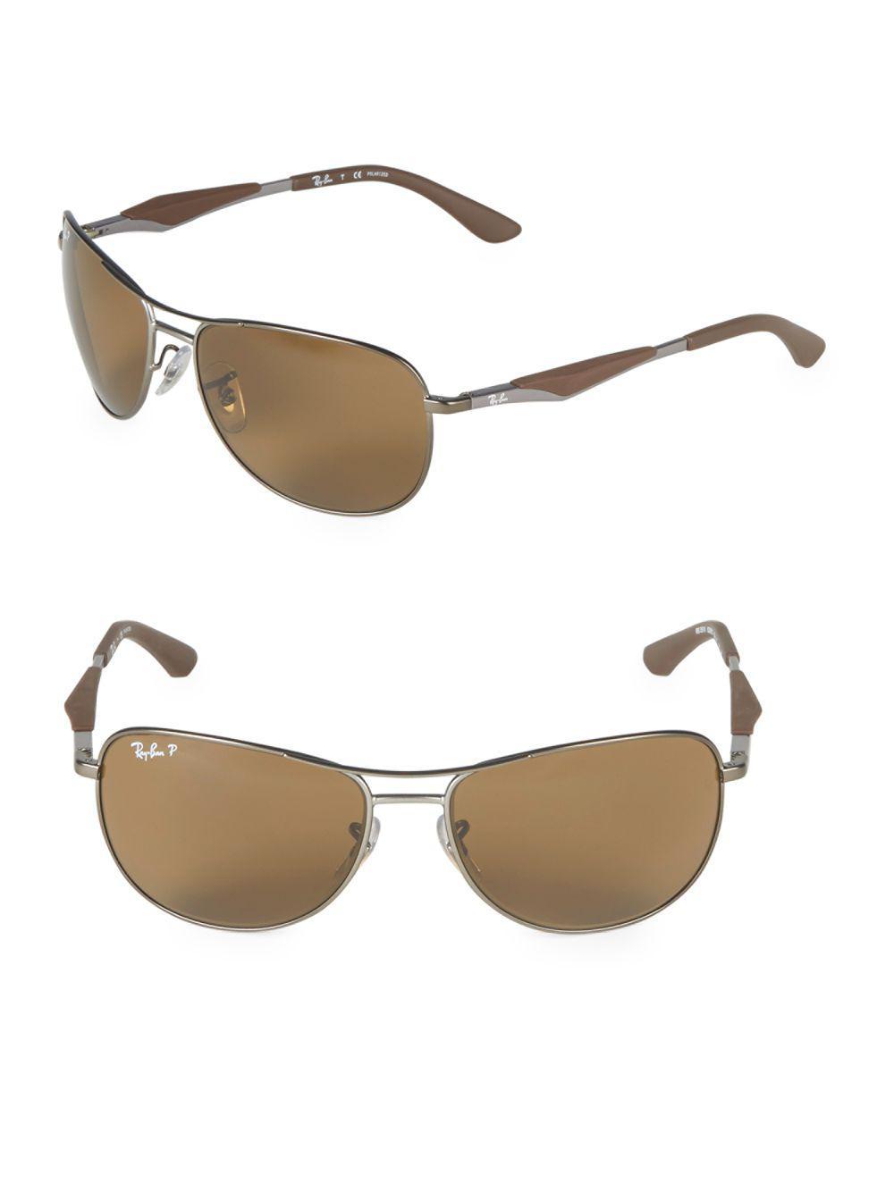26fb0f7d19 Ray-Ban. Women s 59mm Classic Polarized Aviator Sunglasses
