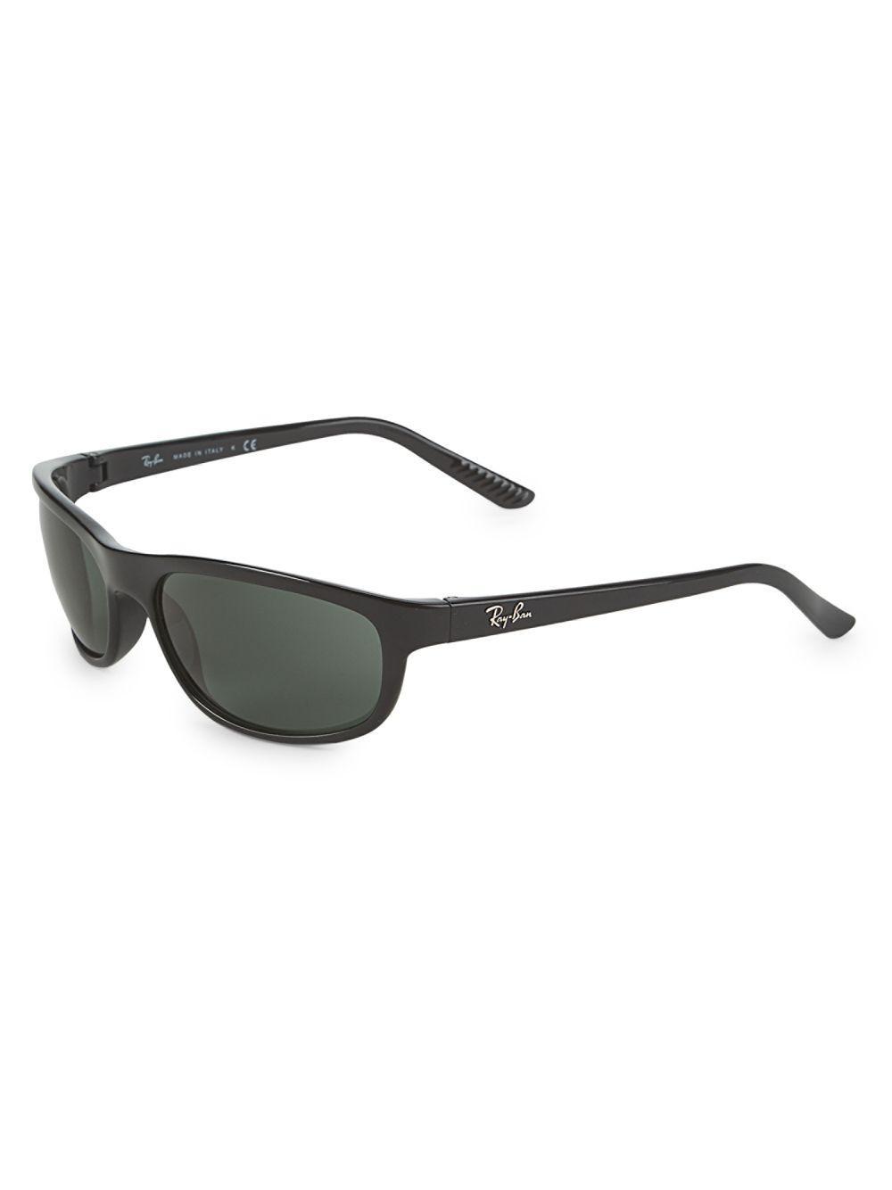 eda6d2aaa65 Ray-Ban - Black 62mm Shield Sunglasses - Lyst. View fullscreen