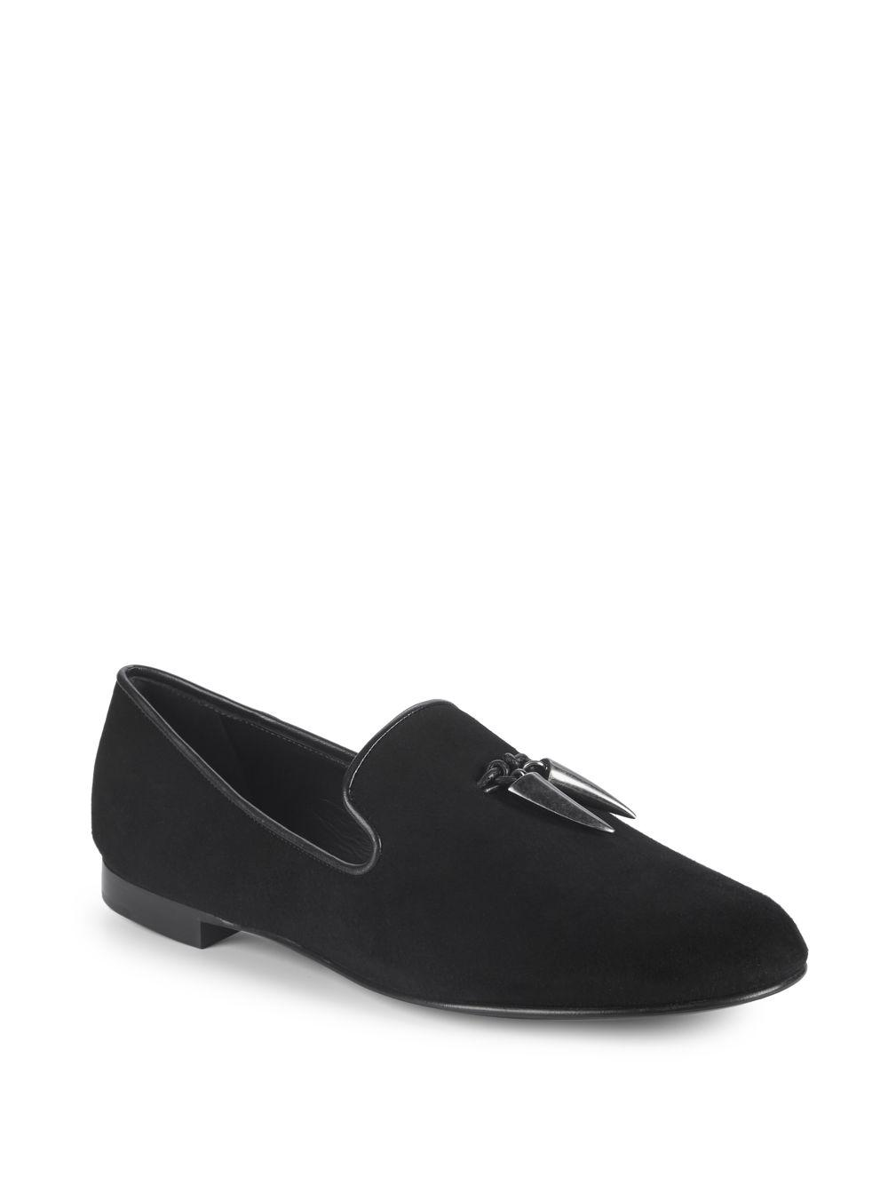 Giuseppe ZanottiSuede loafers