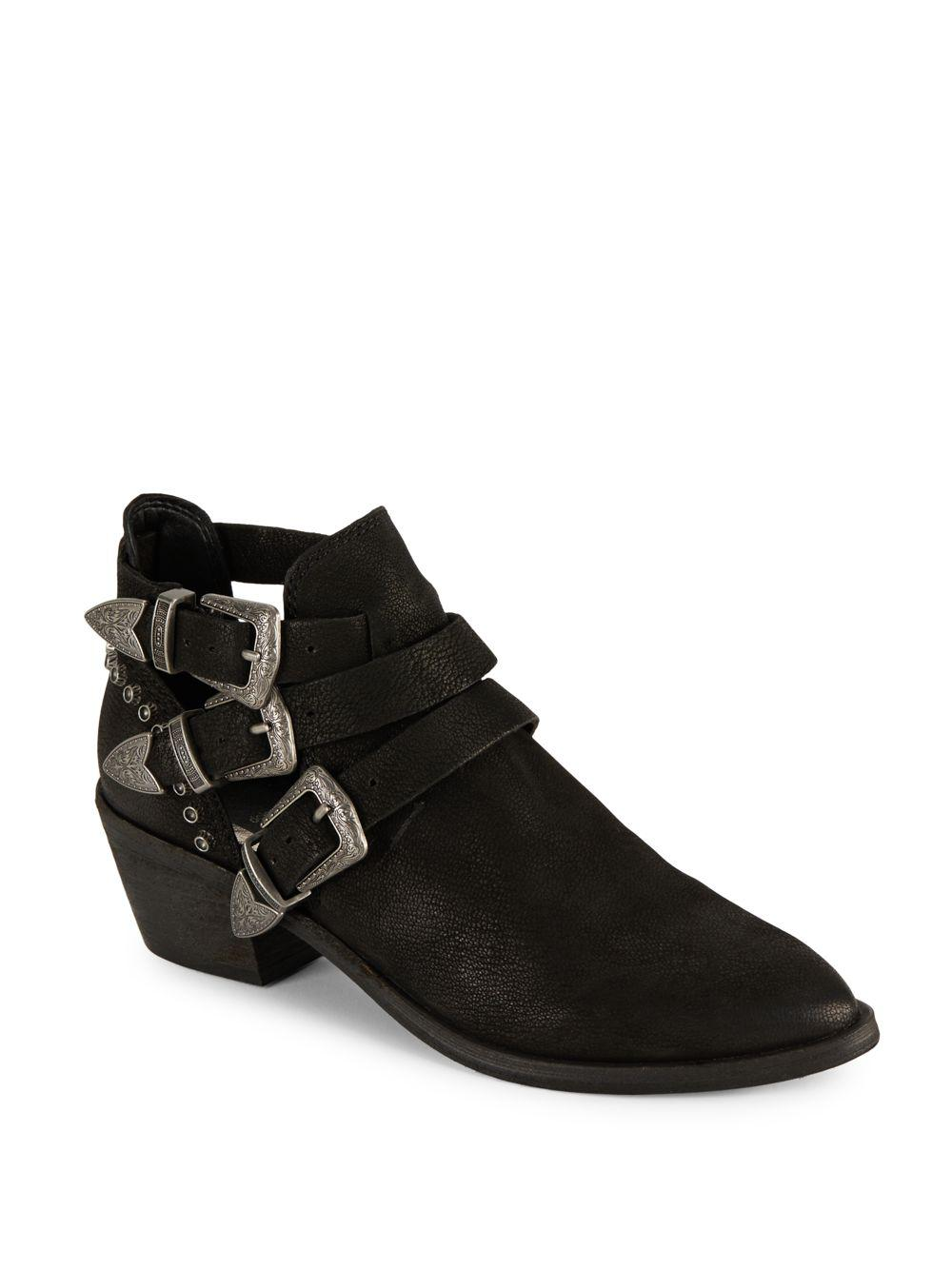 Dolce Vita Uma Studded Chelsea Western Inspired Booties NZzdH7