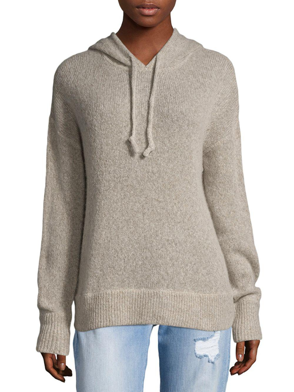 bca92cd989a NAKEDCASHMERE Cashmere Drawstring Hoodie in Gray - Lyst