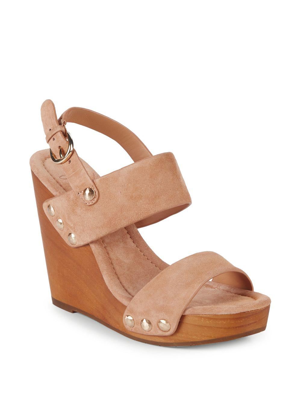 looking for for sale footlocker Joie Talia Suede Wedges deals for sale 1lKuO5Oi