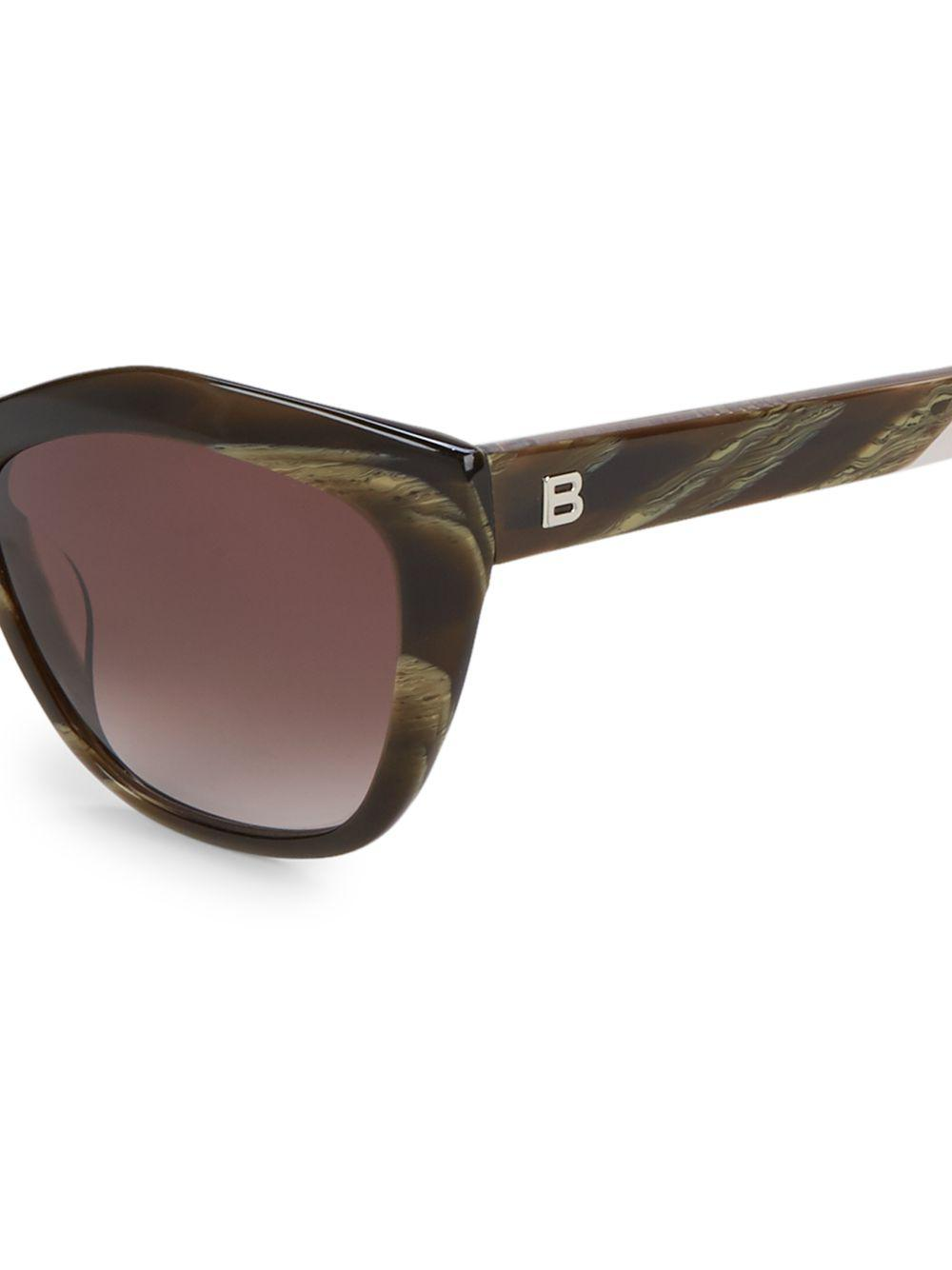 78eb15bb392 Balenciaga - Brown 56mm Square Sunglasses - Lyst. View fullscreen