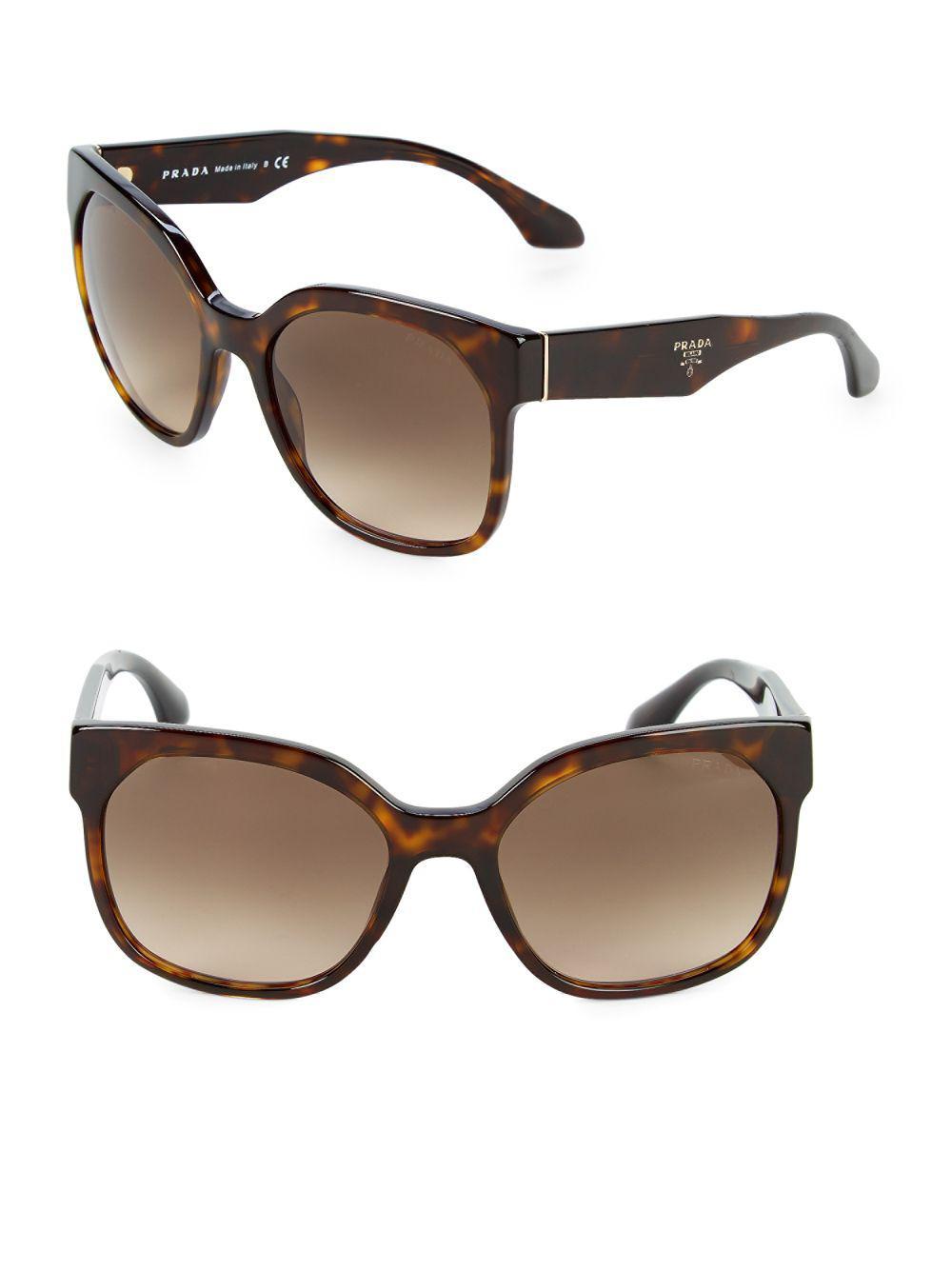7ead48db7d ... Squared Cat-eye Sunglasses - Lyst. View fullscreen