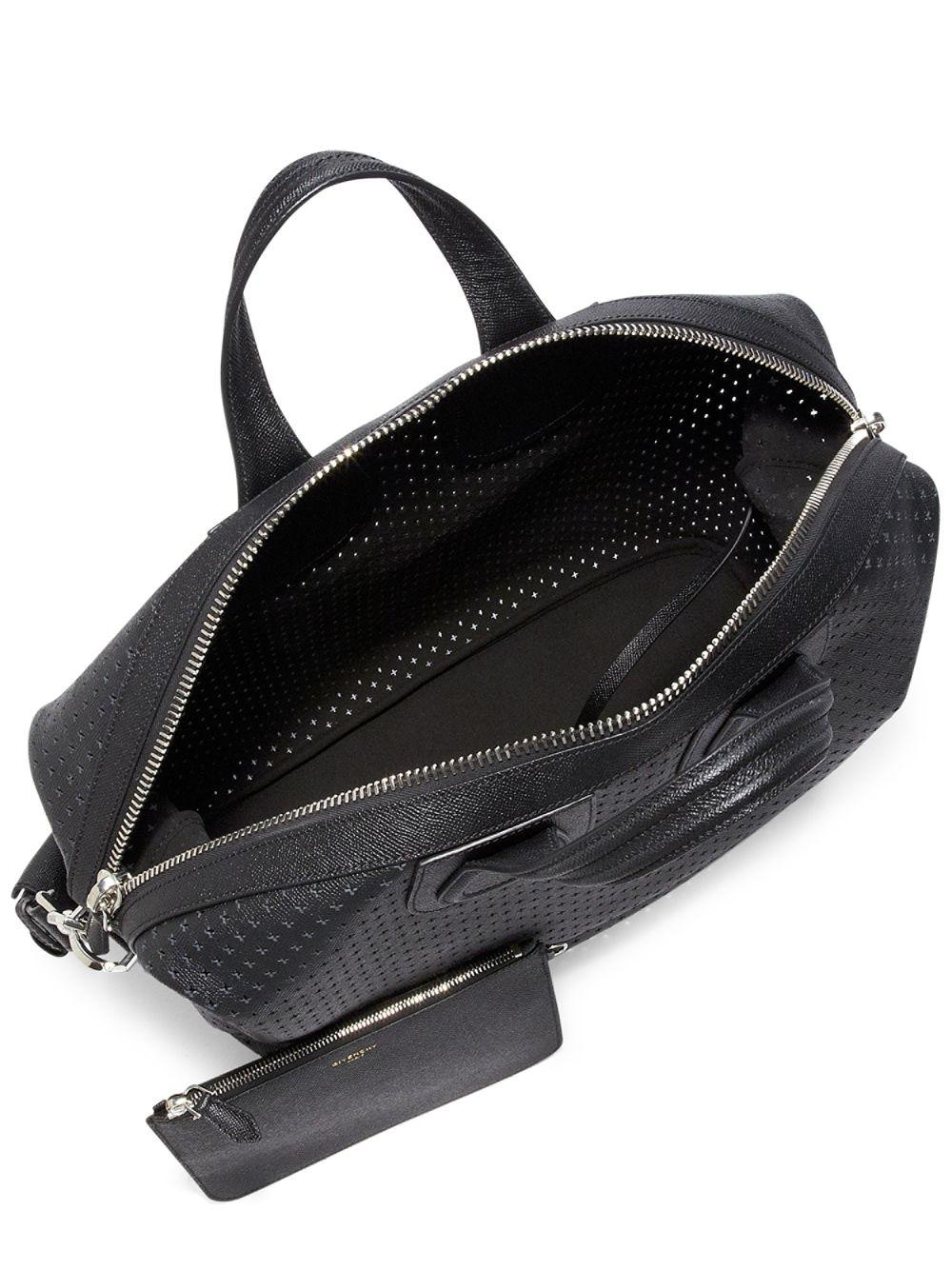 3448ef309a30 Givenchy - Black Nightingale Perforated Leather Bag for Men - Lyst. View  fullscreen