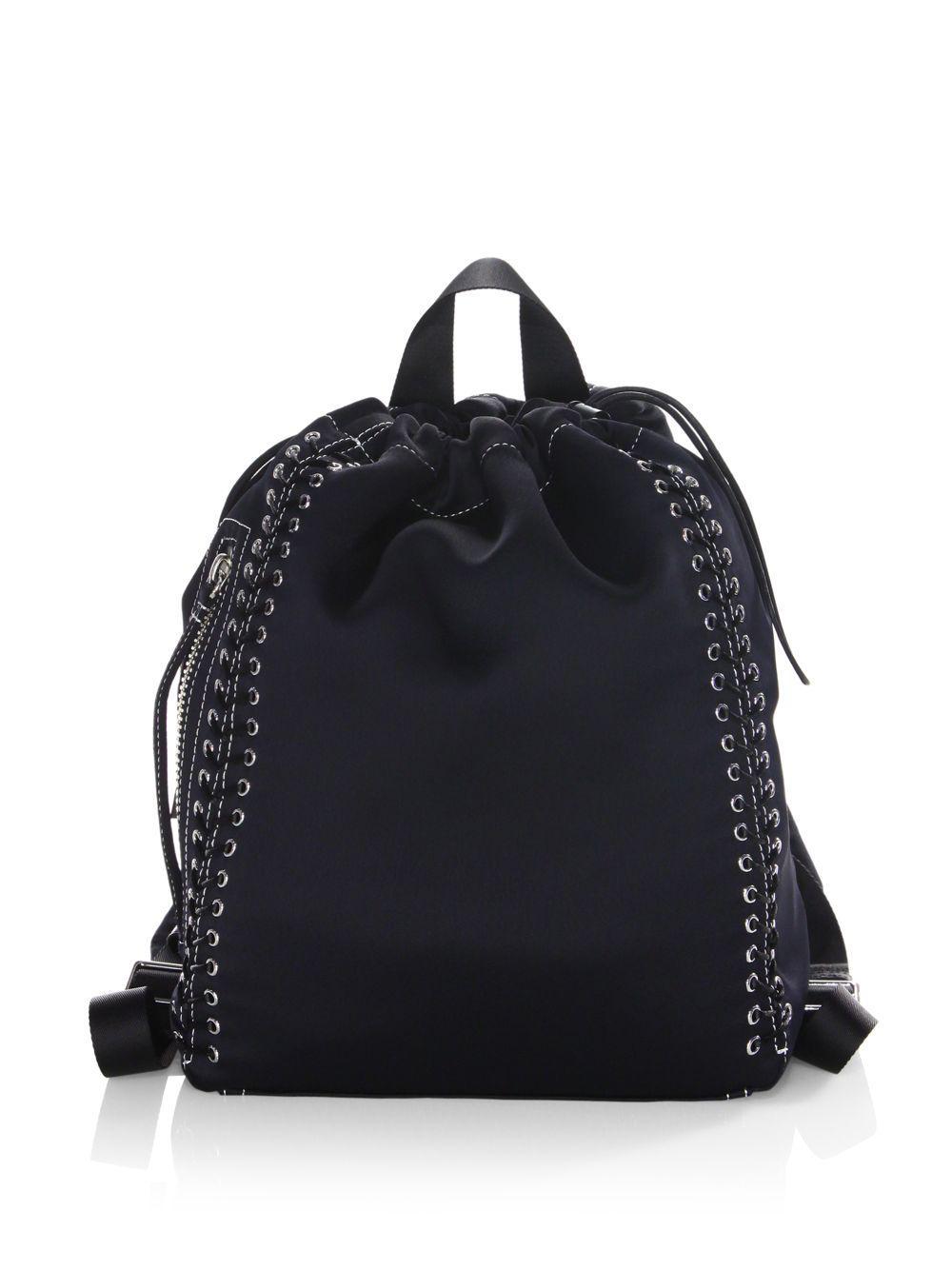 3.1 Phillip Lim Woman Go-go Embellished Shell Backpack Midnight Blue Size 3.1 Phillip Lim YMDORHHl