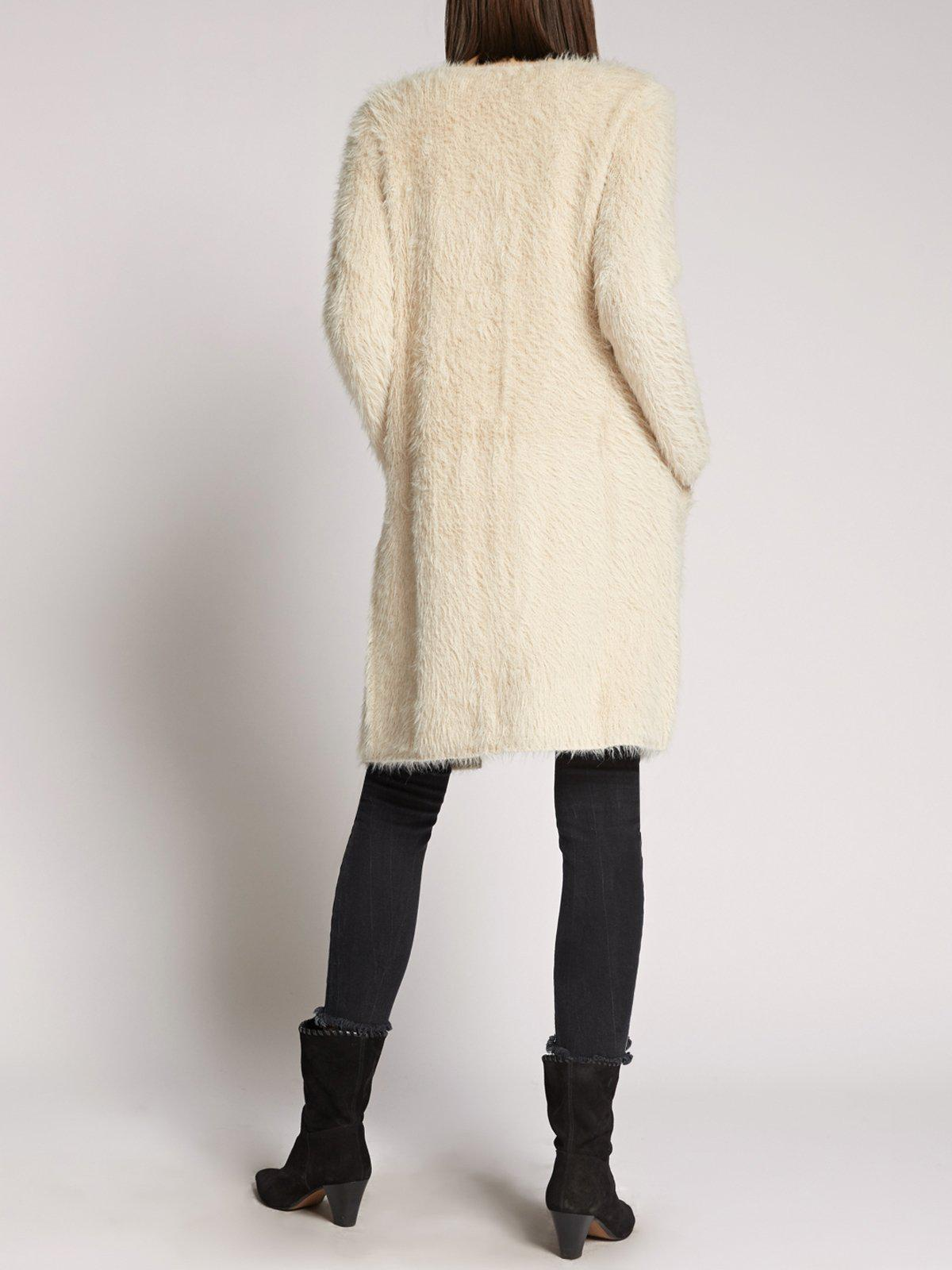 9a0556d7774e Lyst - Sanctuary Clothing Super Soft City Coat in Natural