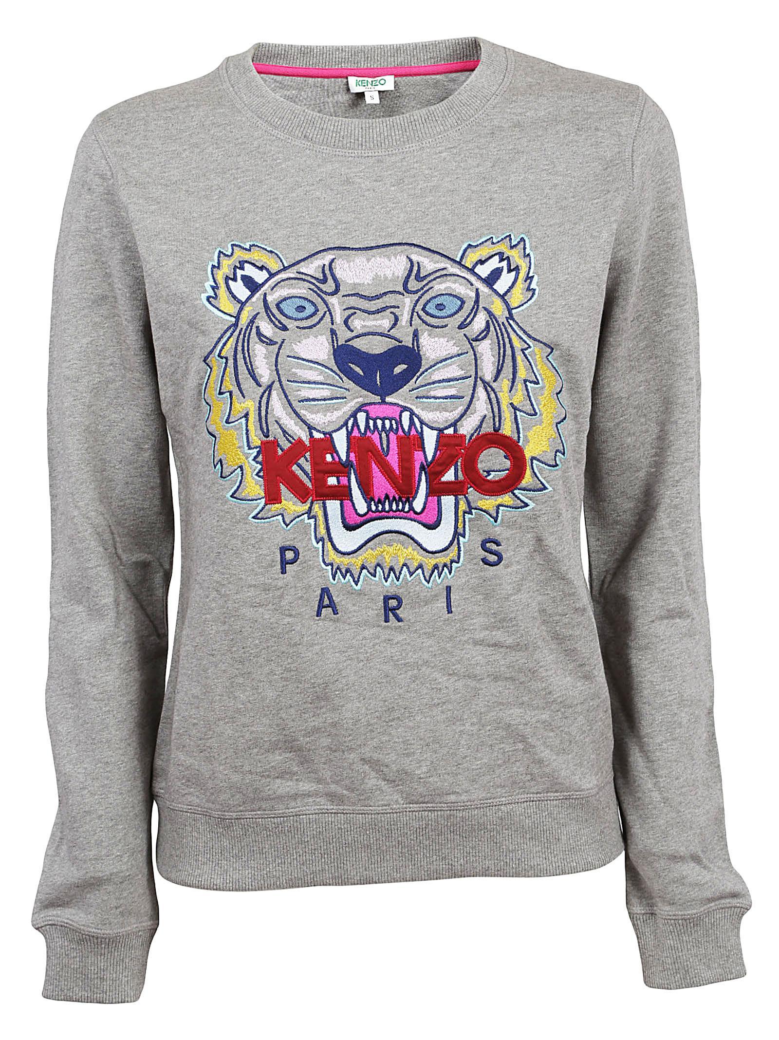 KENZO - Gray Tiger Classic Sweatshirt - Lyst. View fullscreen ea7c1f4ecf4