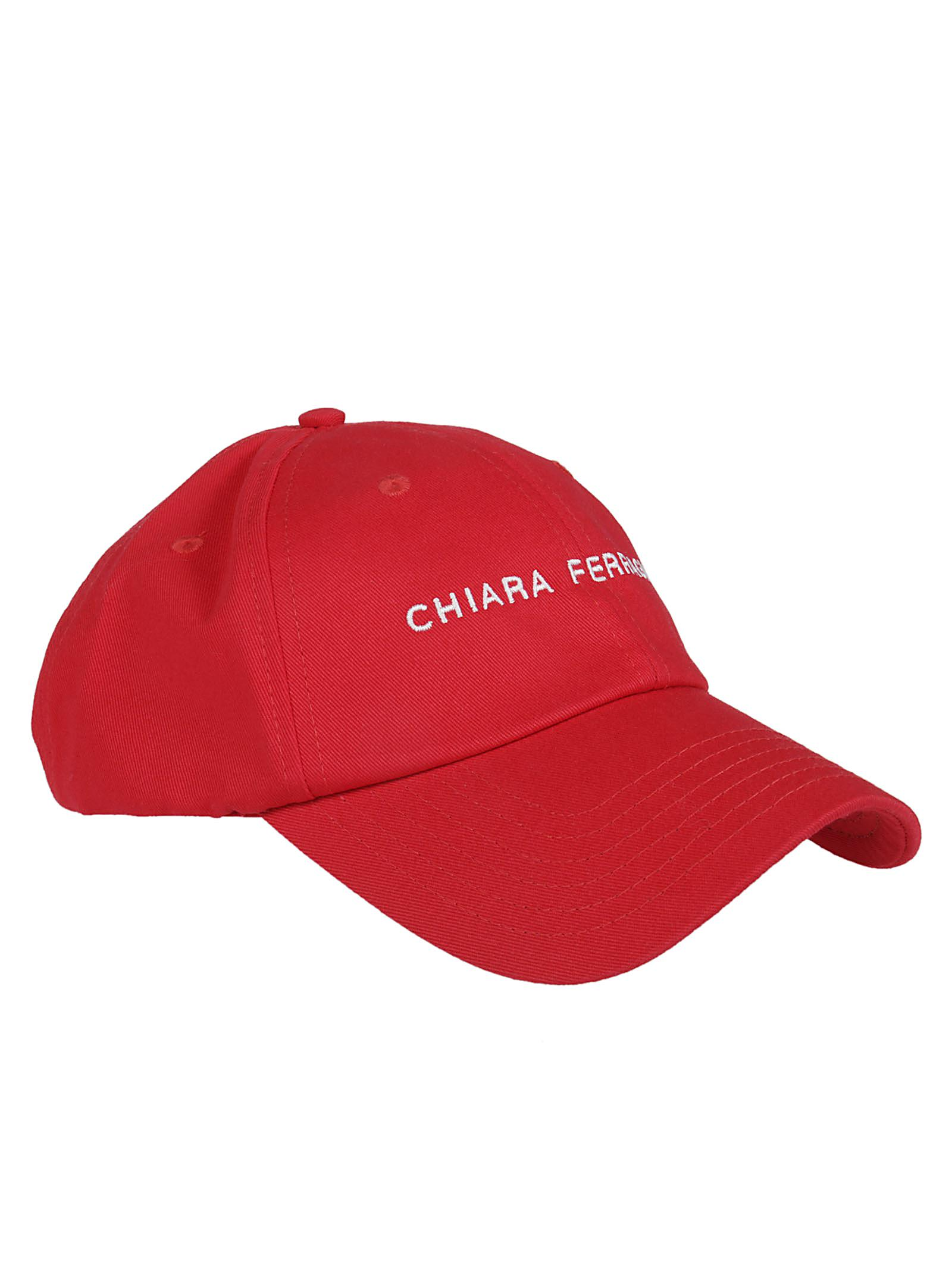 logo patch cap - Red Chiara Ferragni Xt9o7M3W