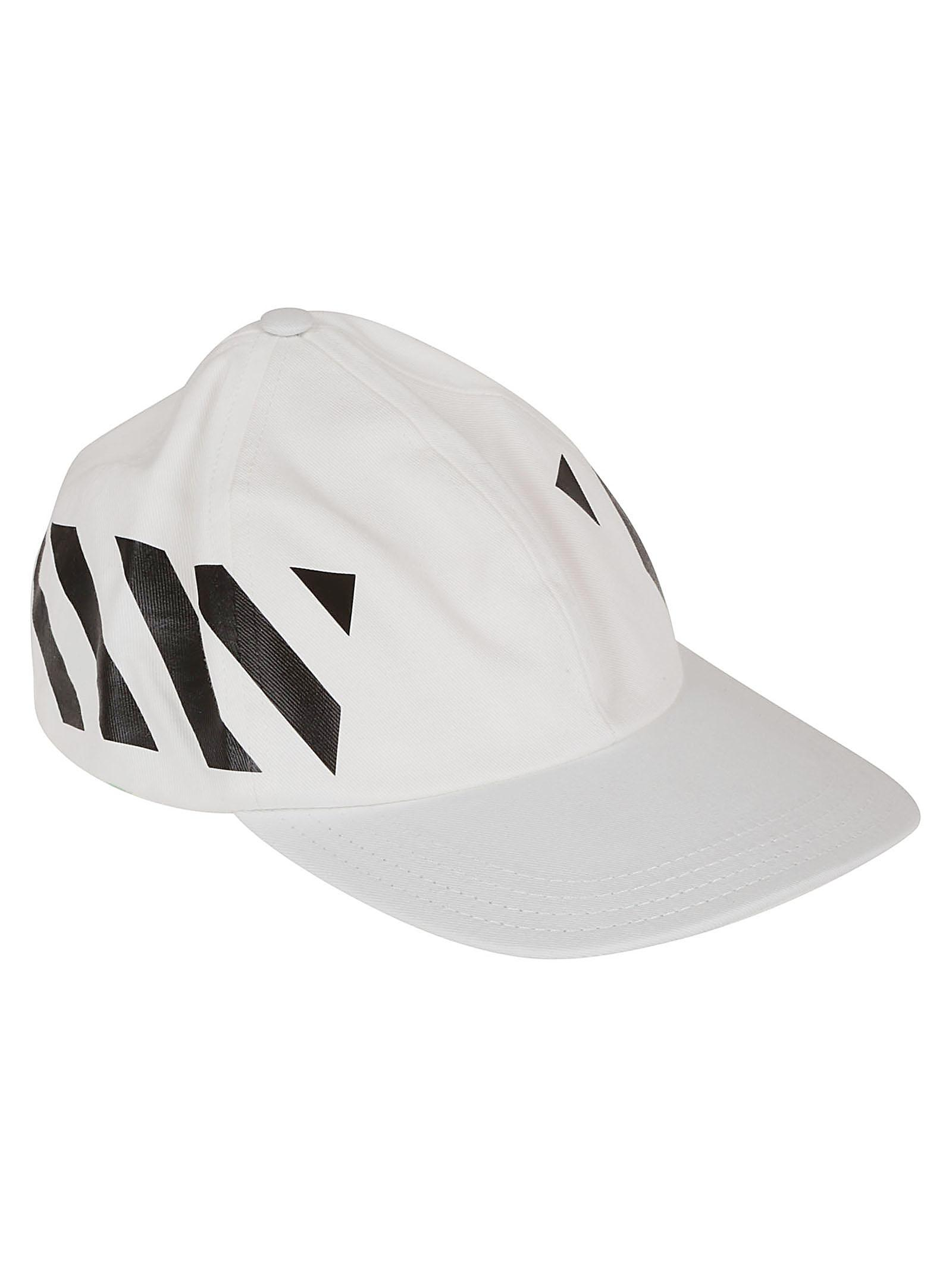 d93990dc8bb Off-White C O Virgil Abloh Baseball Cap in White for Men - Lyst