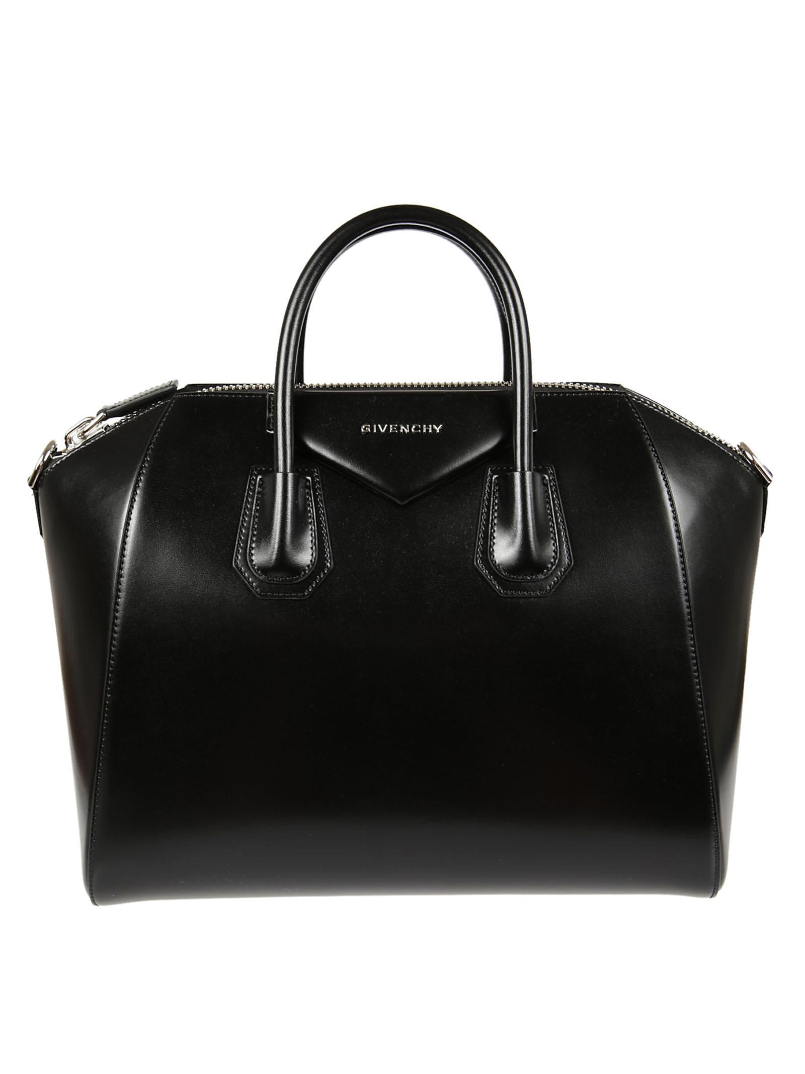 5c2f305167a8 Lyst - Givenchy Antigona Bag in Black