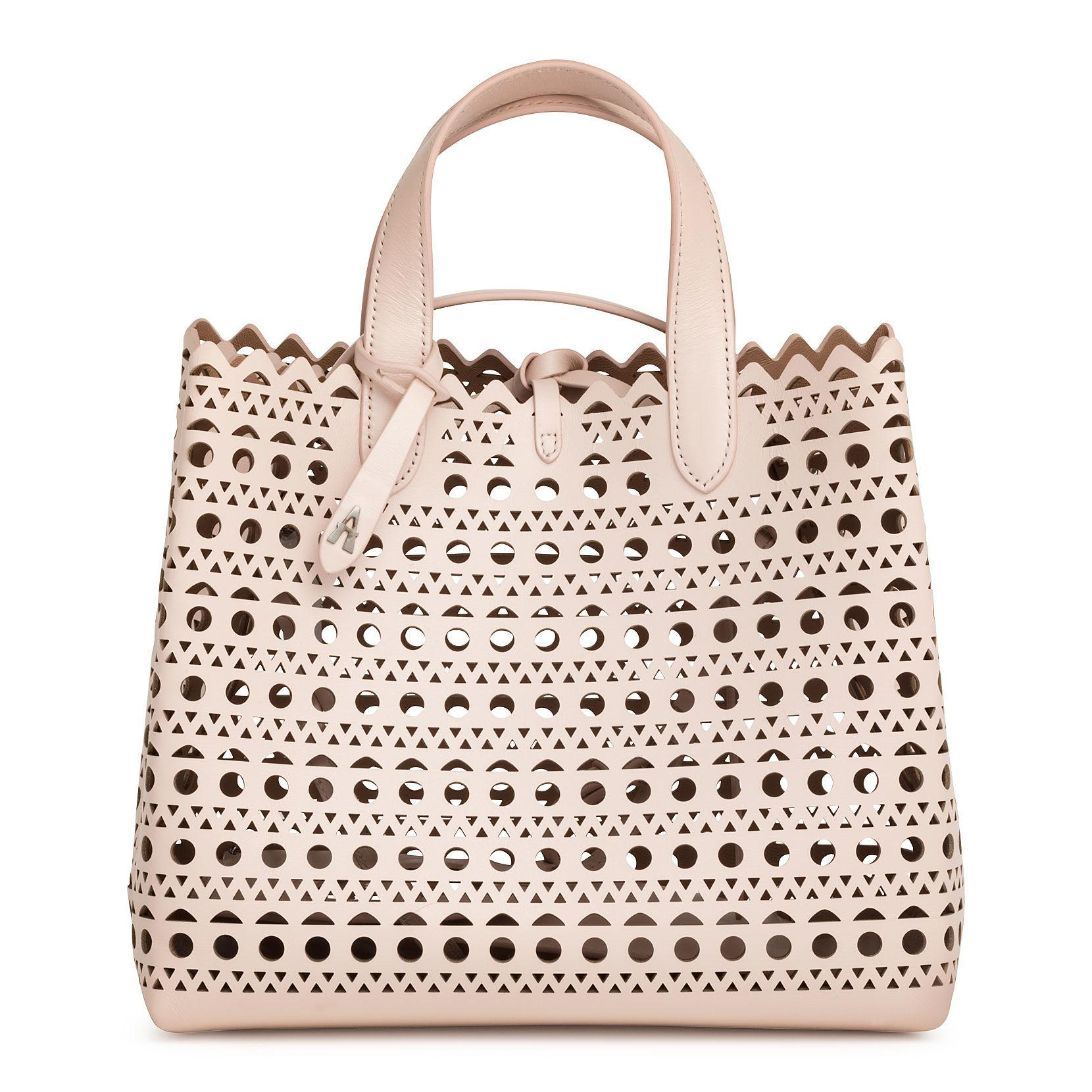 61fd477c5 Alaïa Frida Medium Blush Laser-cut Bag in Pink - Lyst