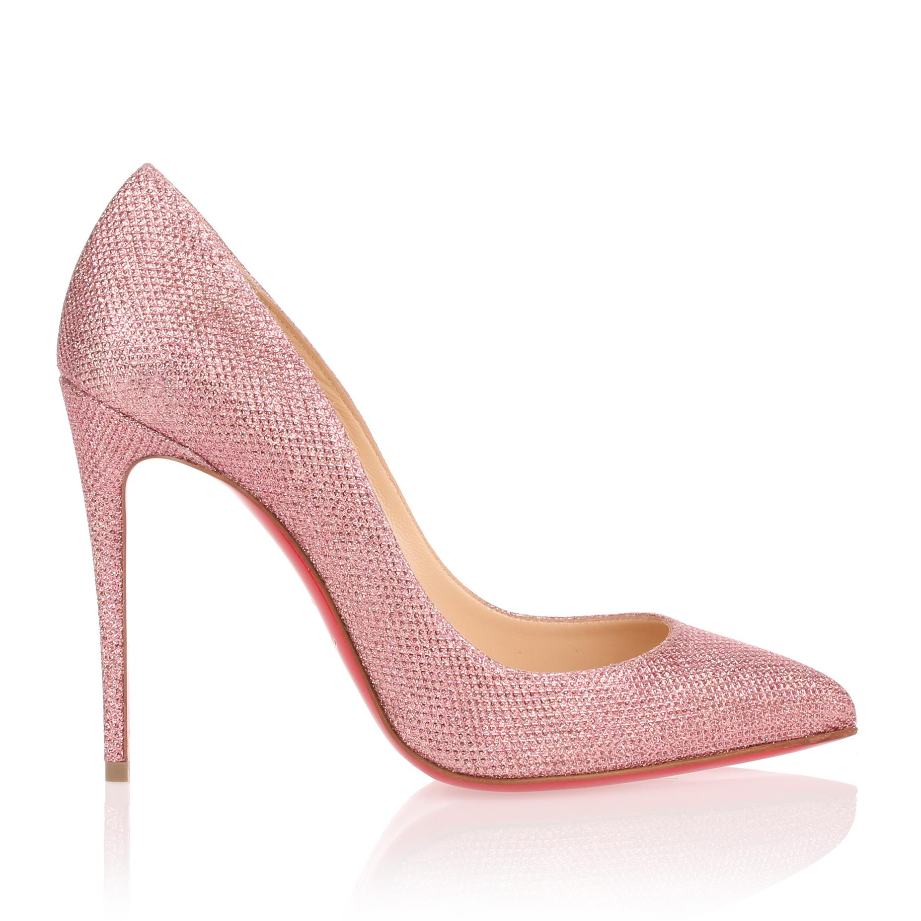 Pigalle Follies 100 powder pink glitter pump Christian Louboutin Where To Buy Low Price Sale 100% Authentic Shop For QKjei