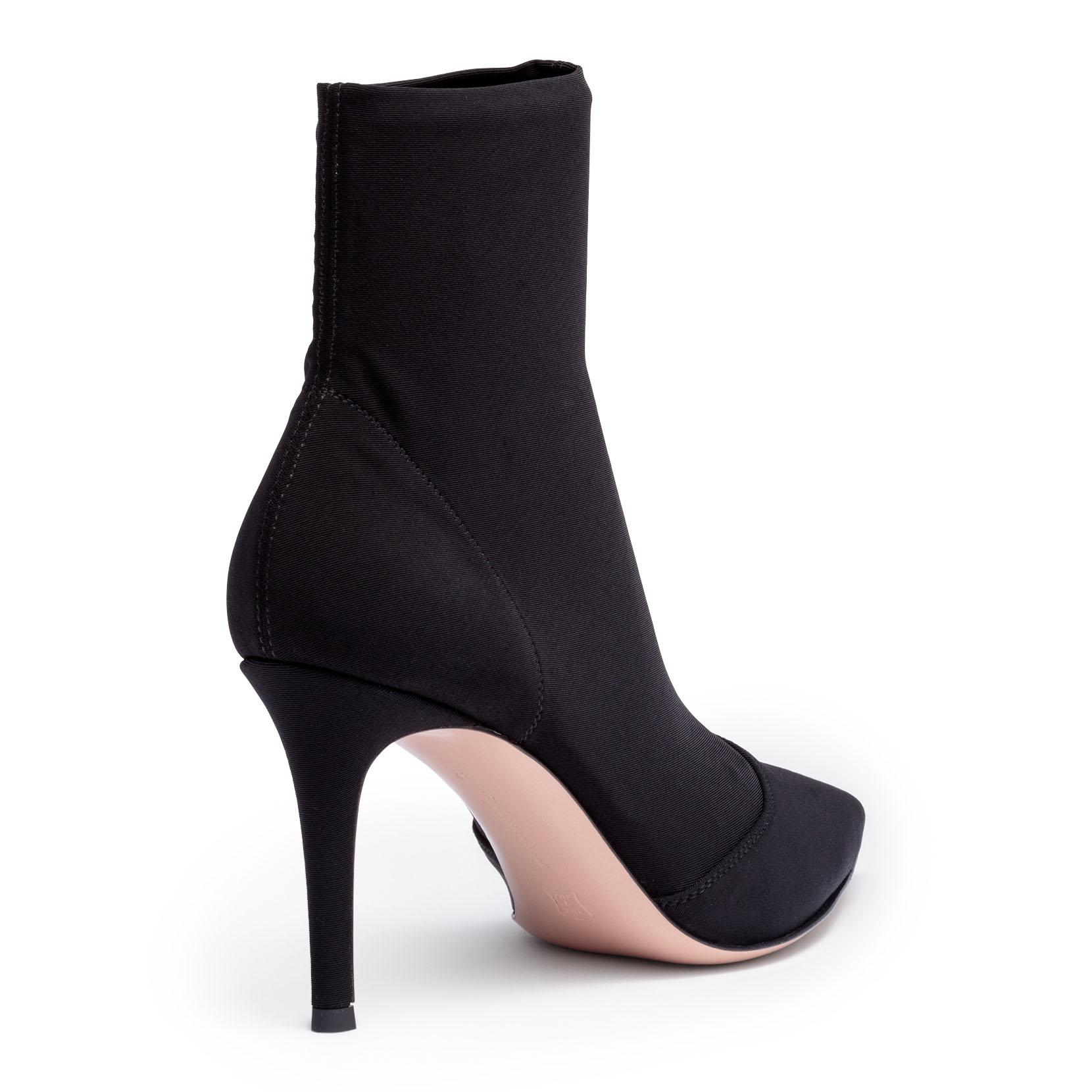 Elite 85 black stretch ankle boots Gianvito Rossi WJGvG