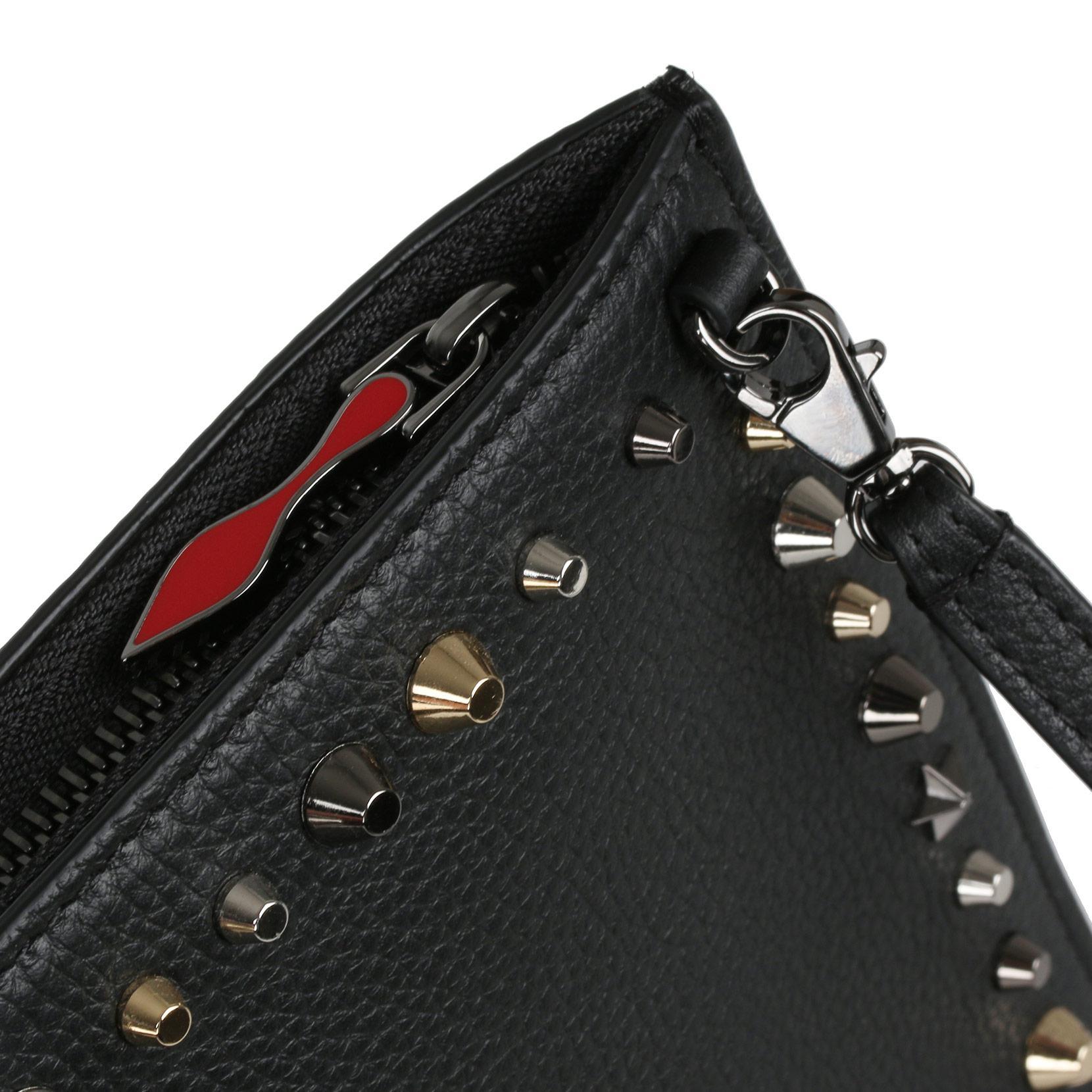 Loubiclutch Creative Leather Clutch Christian Louboutin LrtUlWGv