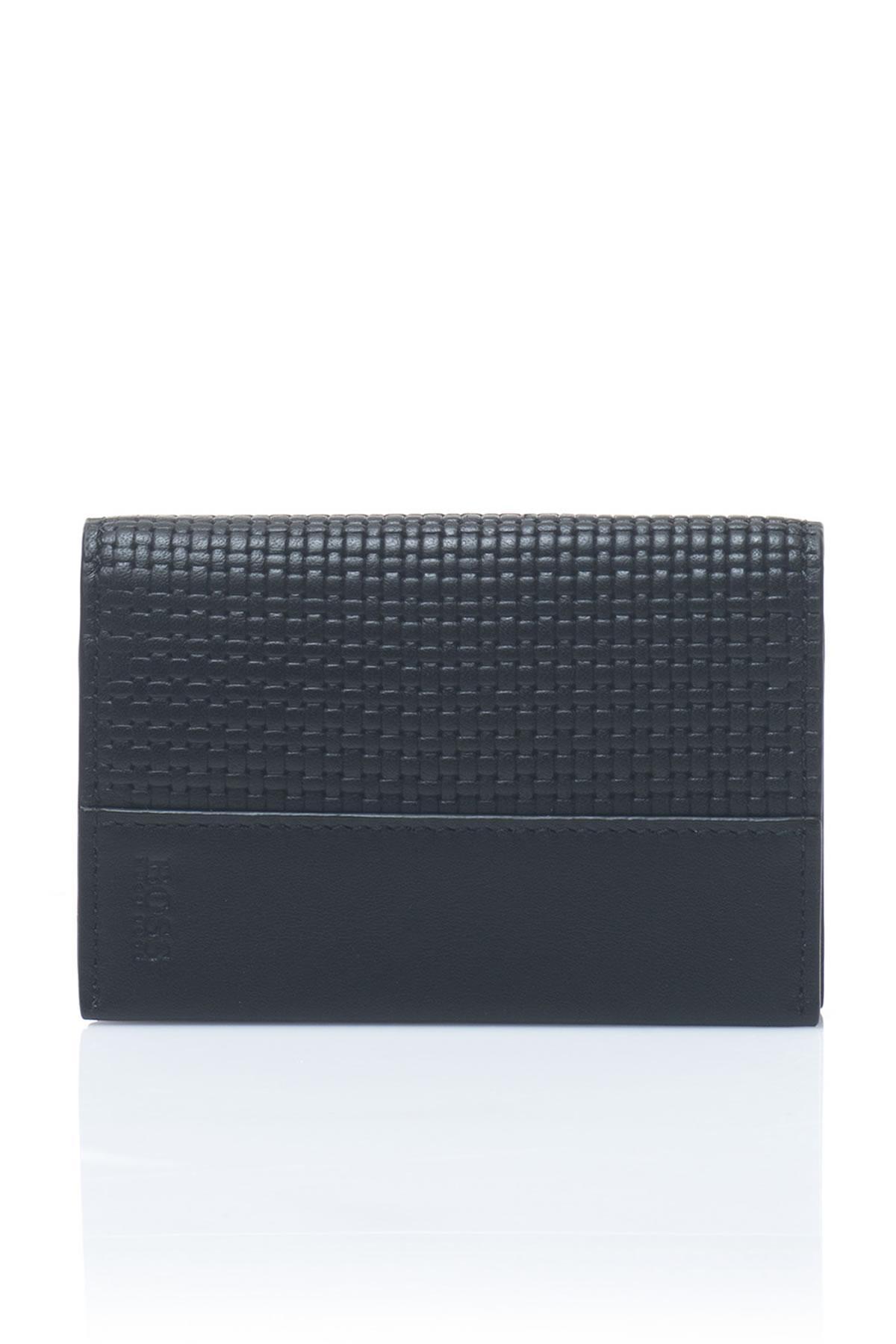 Lyst - Boss By Hugo Boss Leather Men\'s Wallet in Black for Men - Save 6%