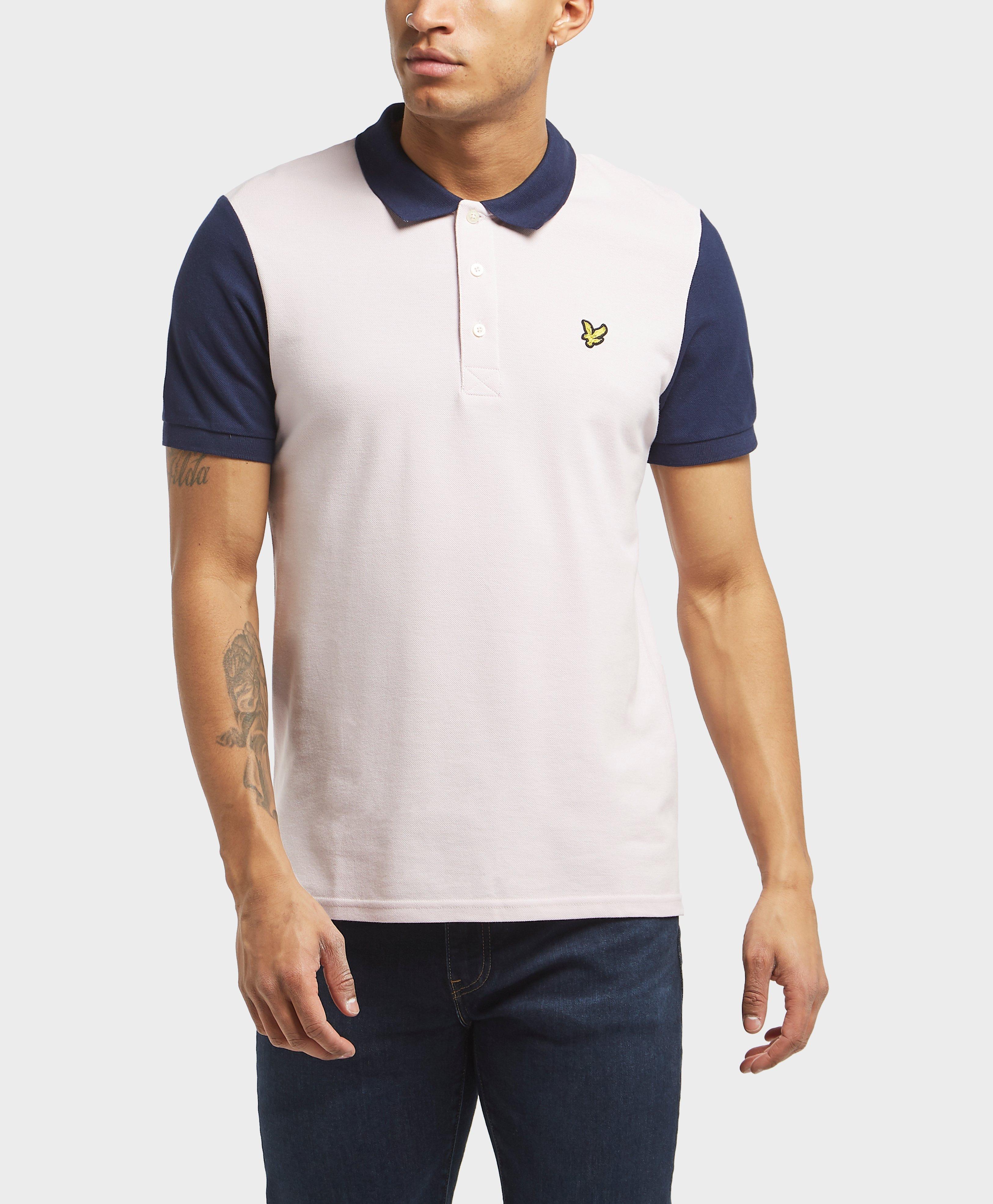 c2deae9fca9 Lyle   Scott Panel Short Sleeve Polo Shirt for Men - Lyst
