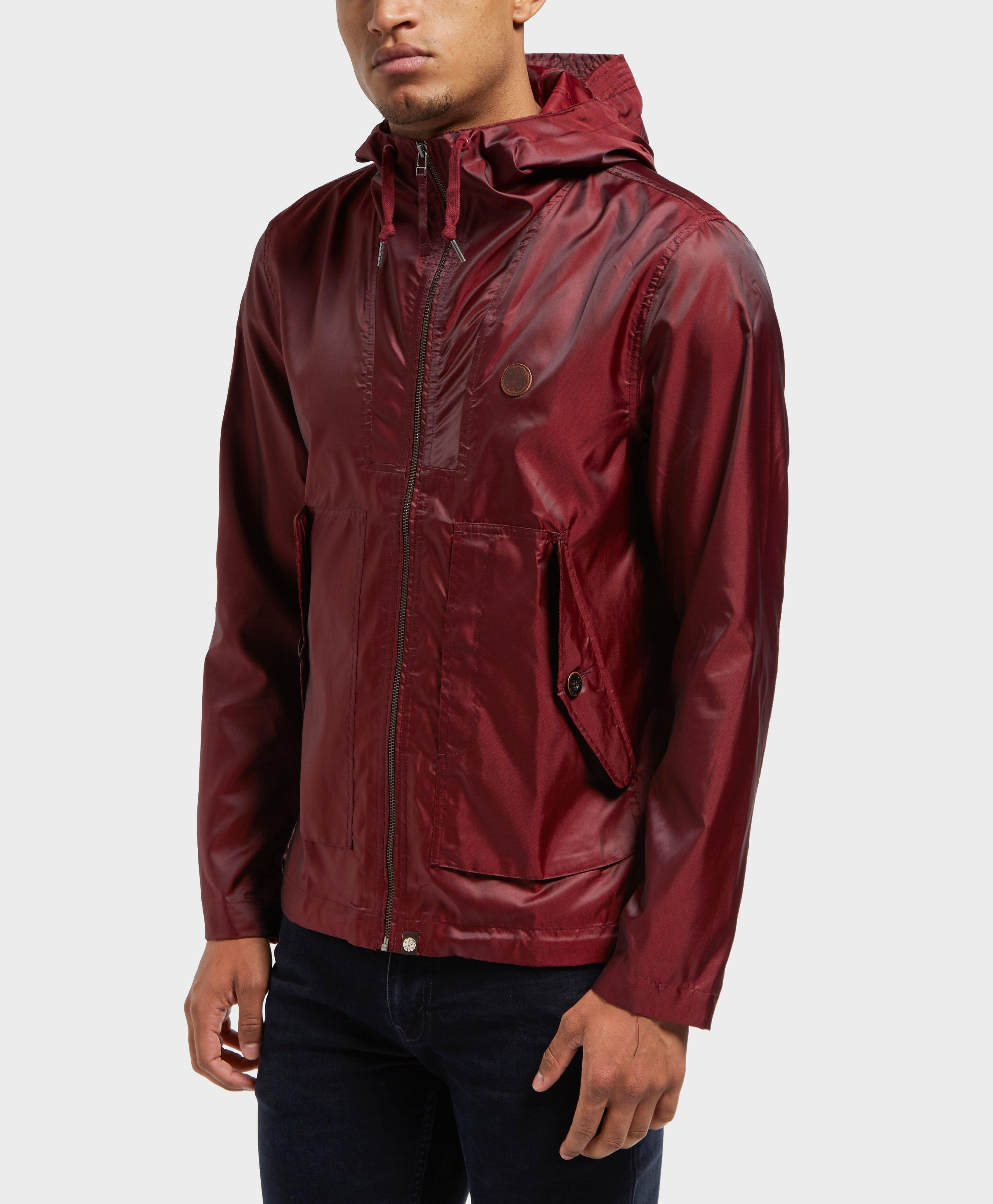 7b771eb750c900 Lyst - Pretty Green Danbury Iridescent Jacket - Exclusive in Red for Men